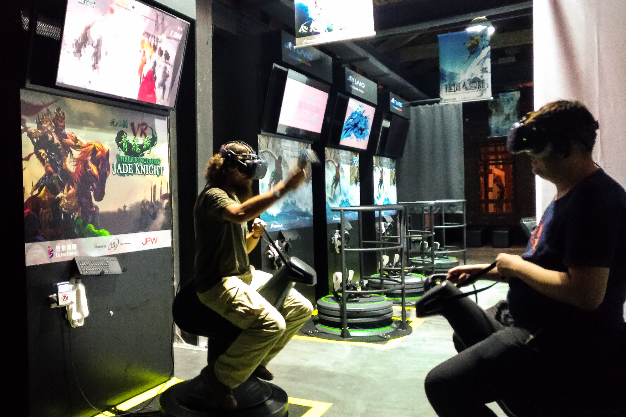 trying VR