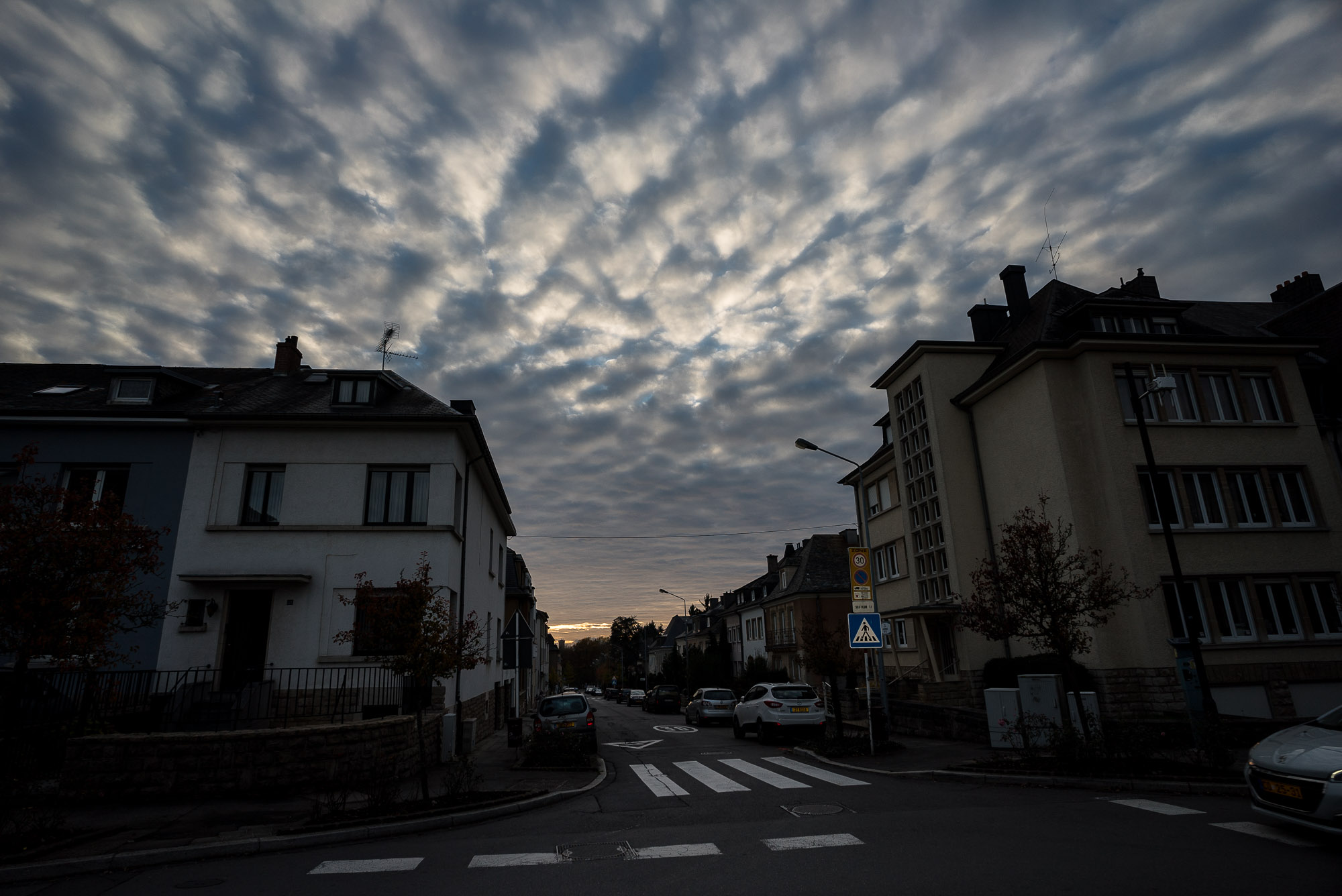 clouds over Luxembourg