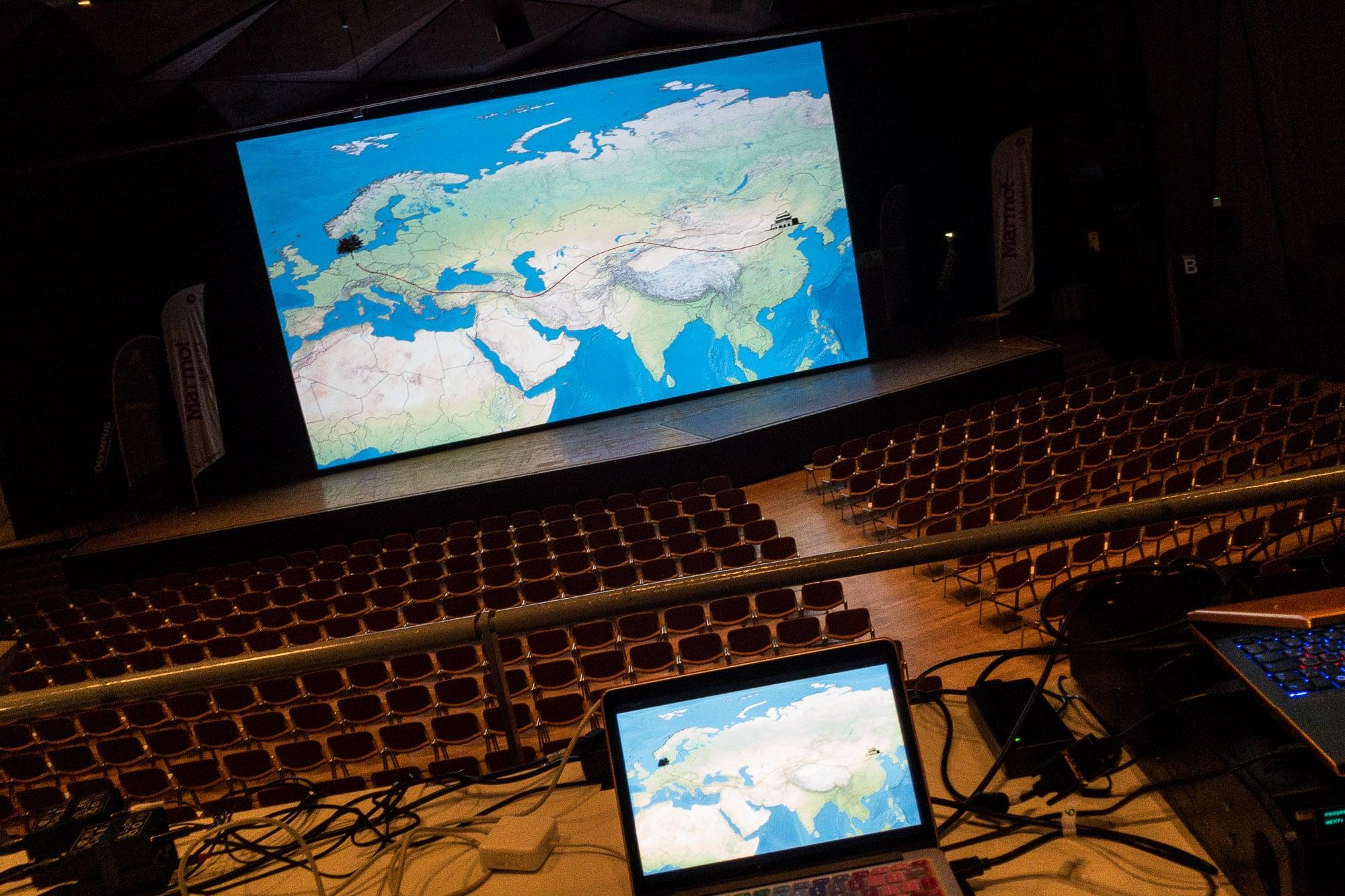 presentation in Erlangen