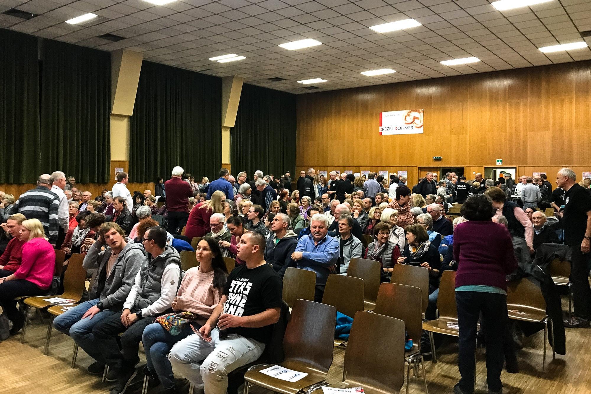 audience in Kuppenheim