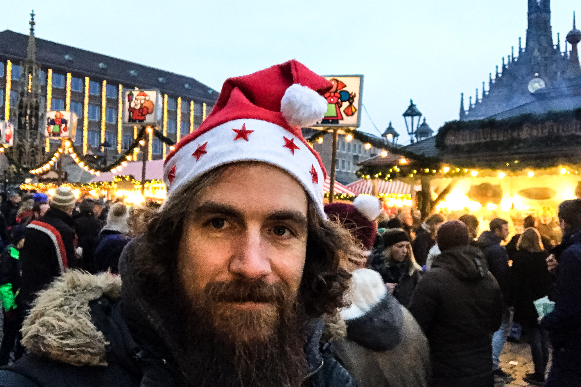 on the Nürnberg Christmas Market