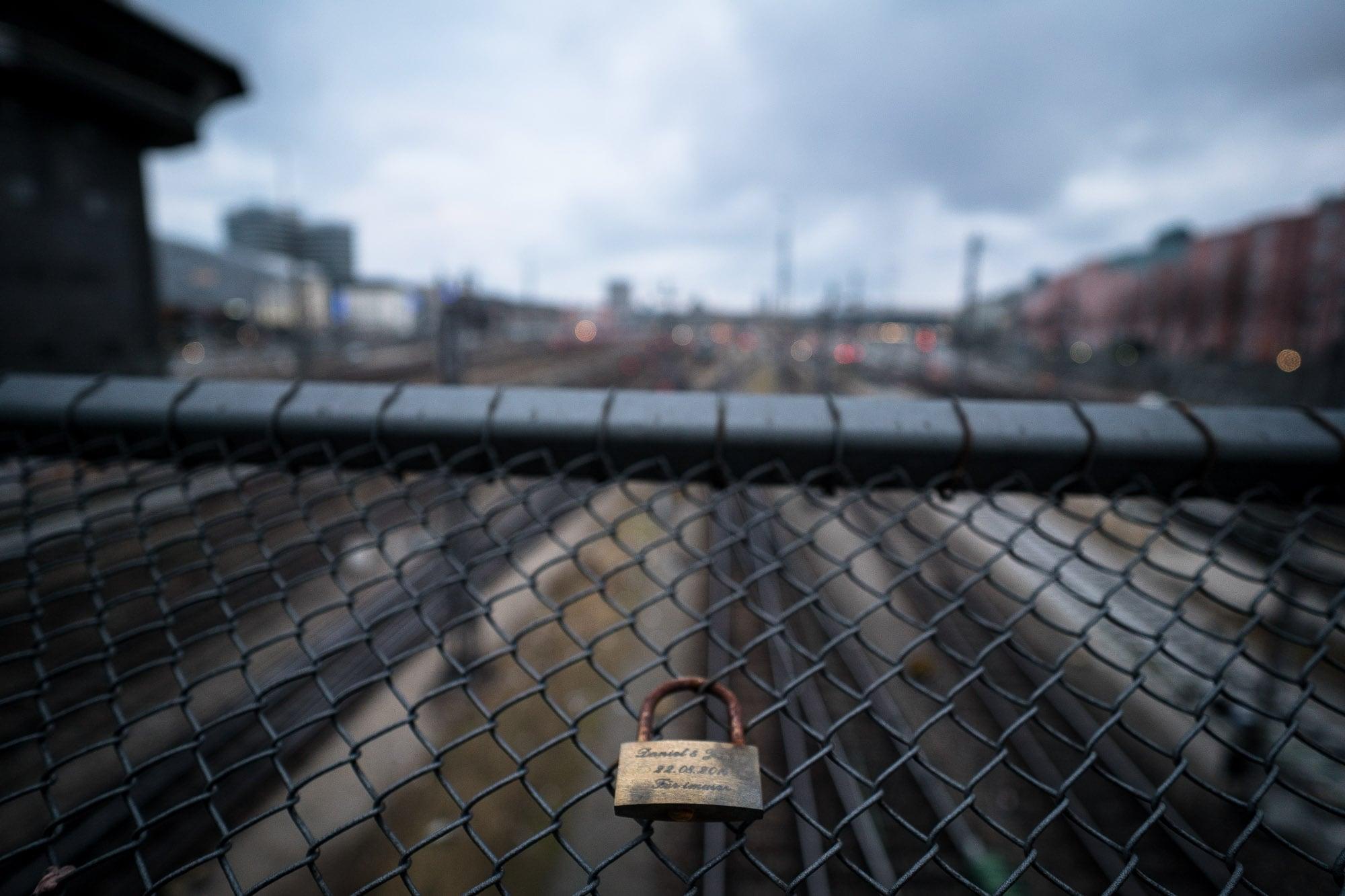 love lock in Munich