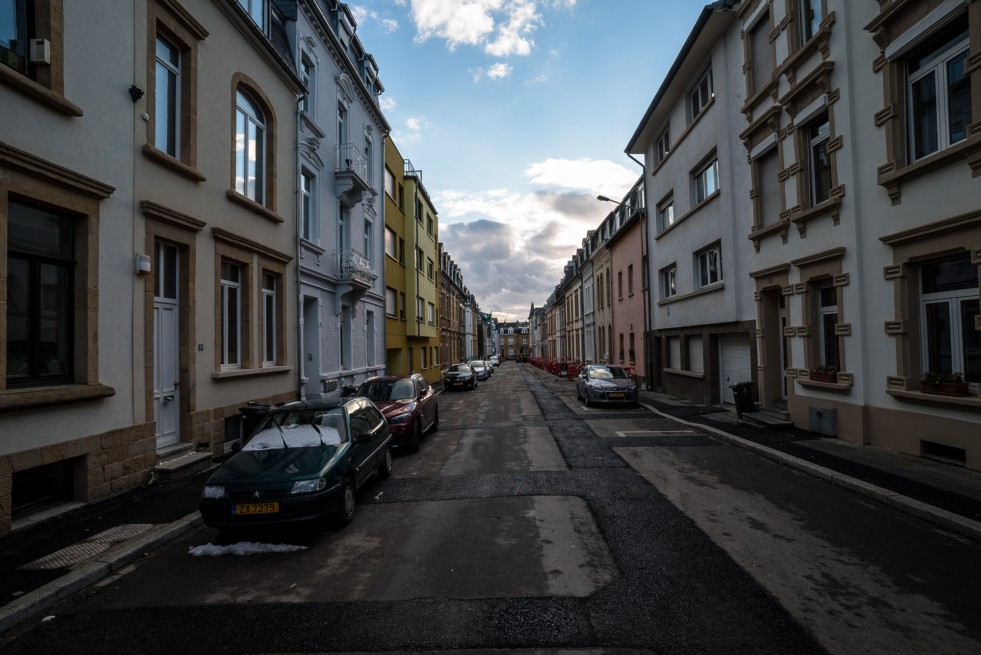 street in Luxembourg