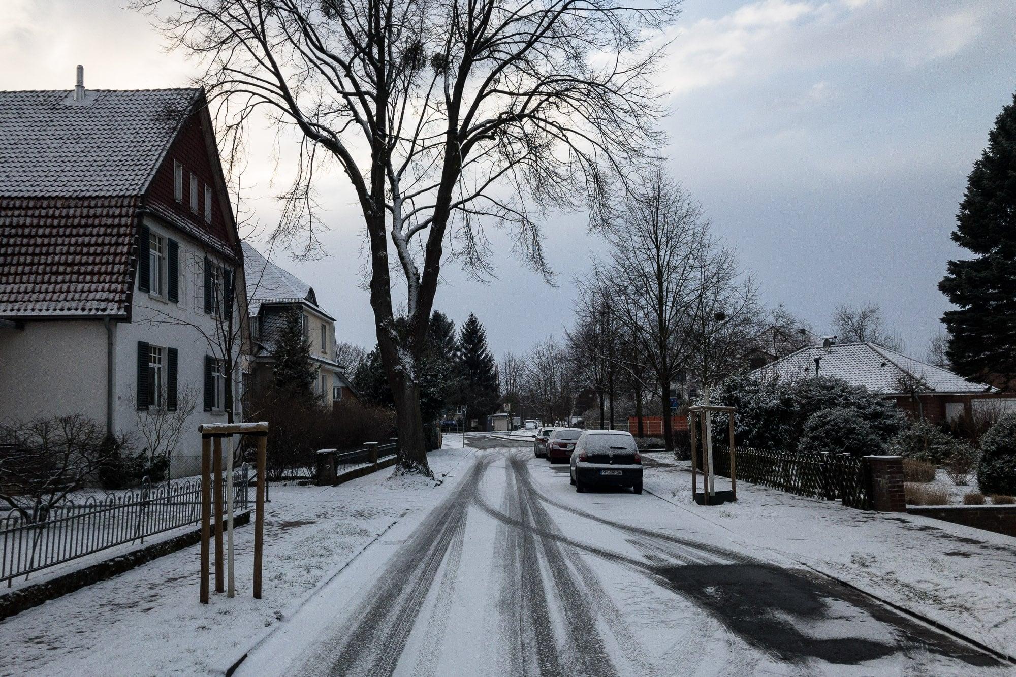 snow in Bad Nenndorf