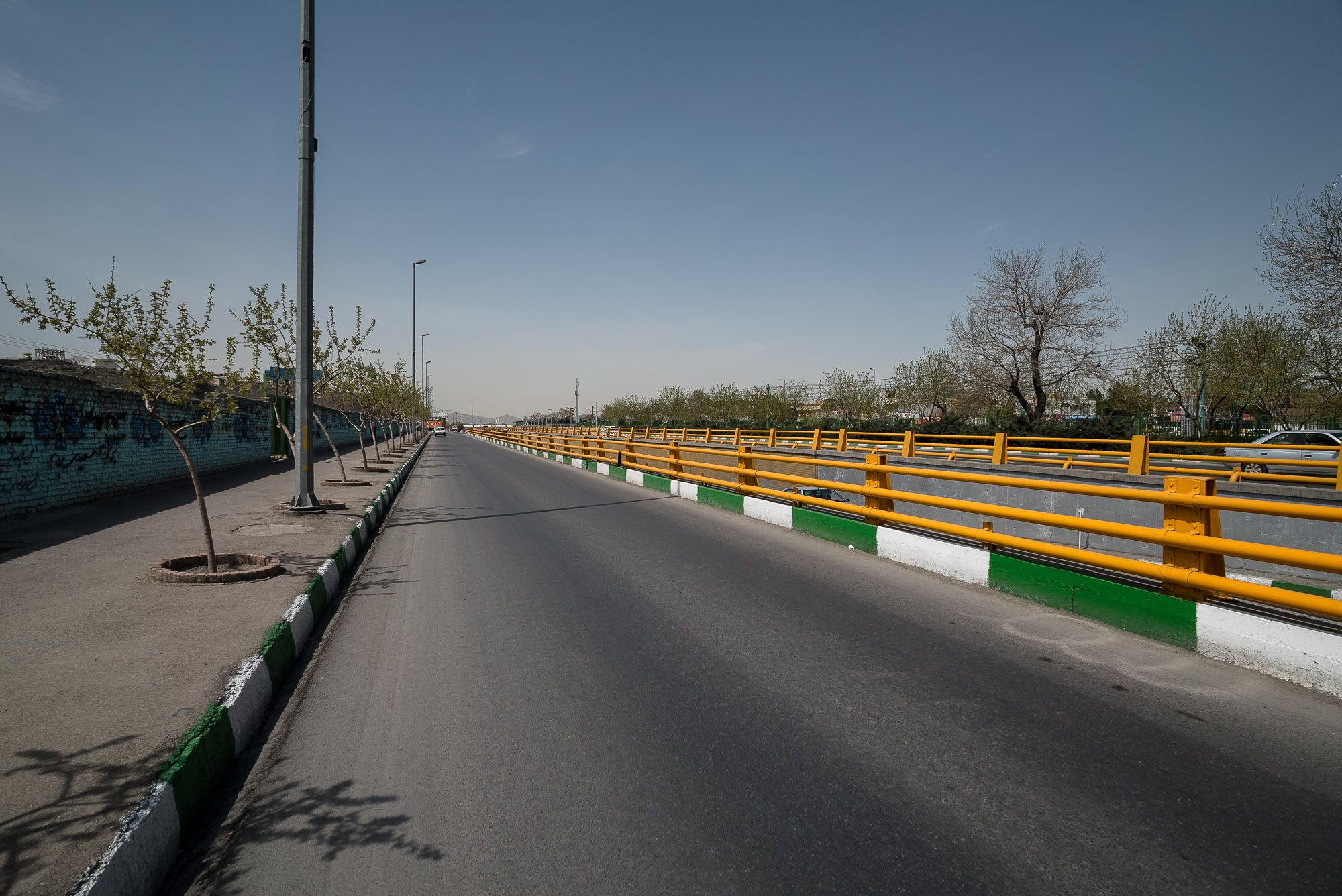 road out of Mashhad