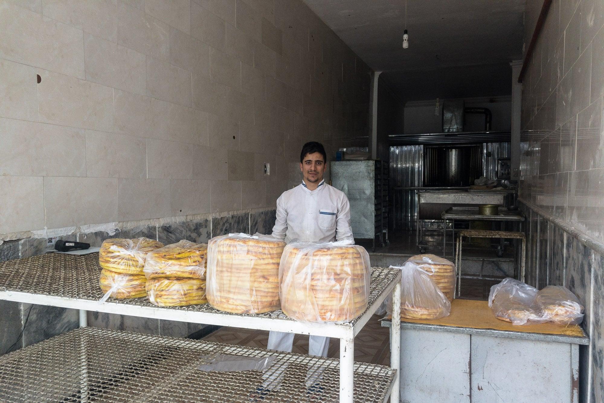 baker in Chenaran