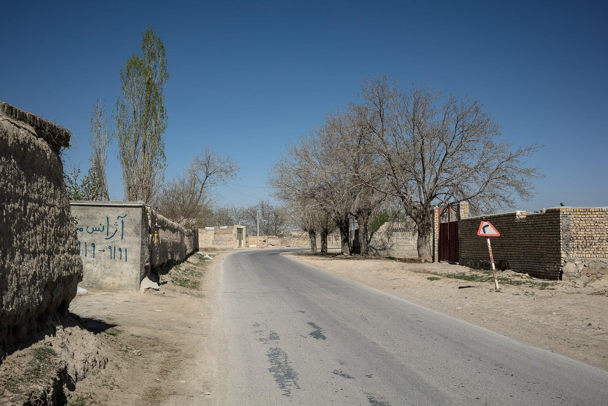 village road near Chenaran