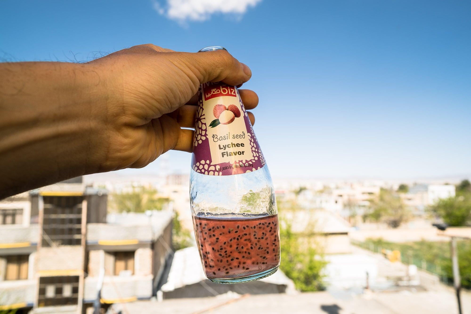 Basil Seed Lychee Flavor