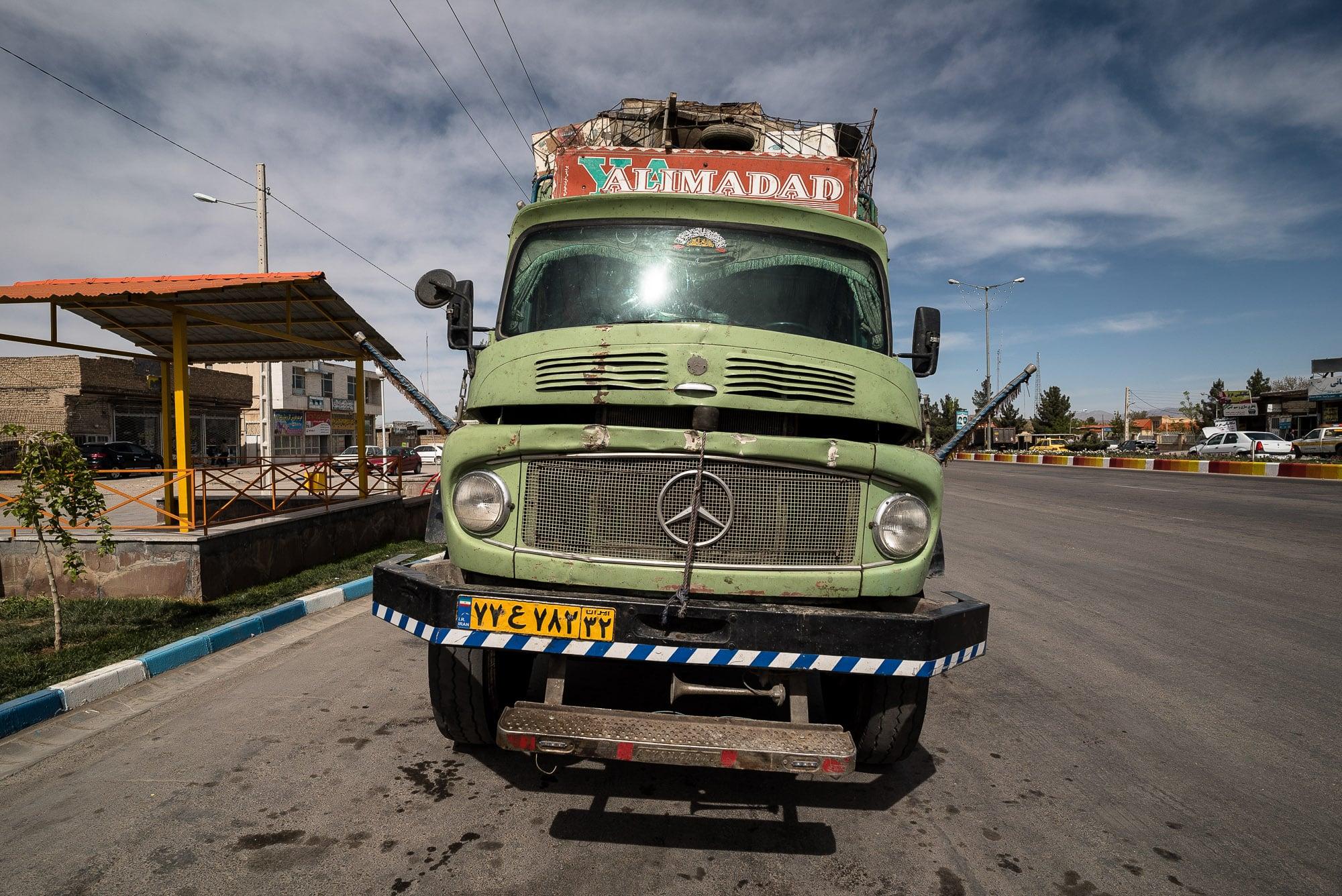 truck in Quchan
