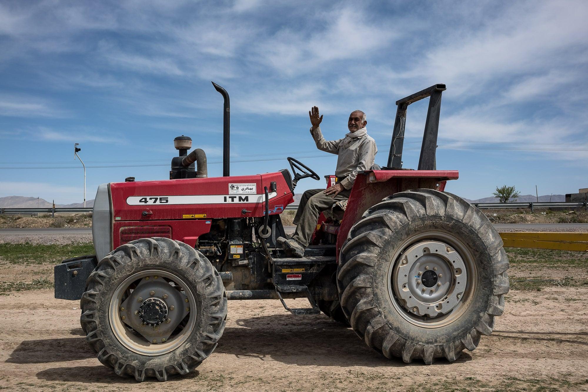 tractorist in Quchan