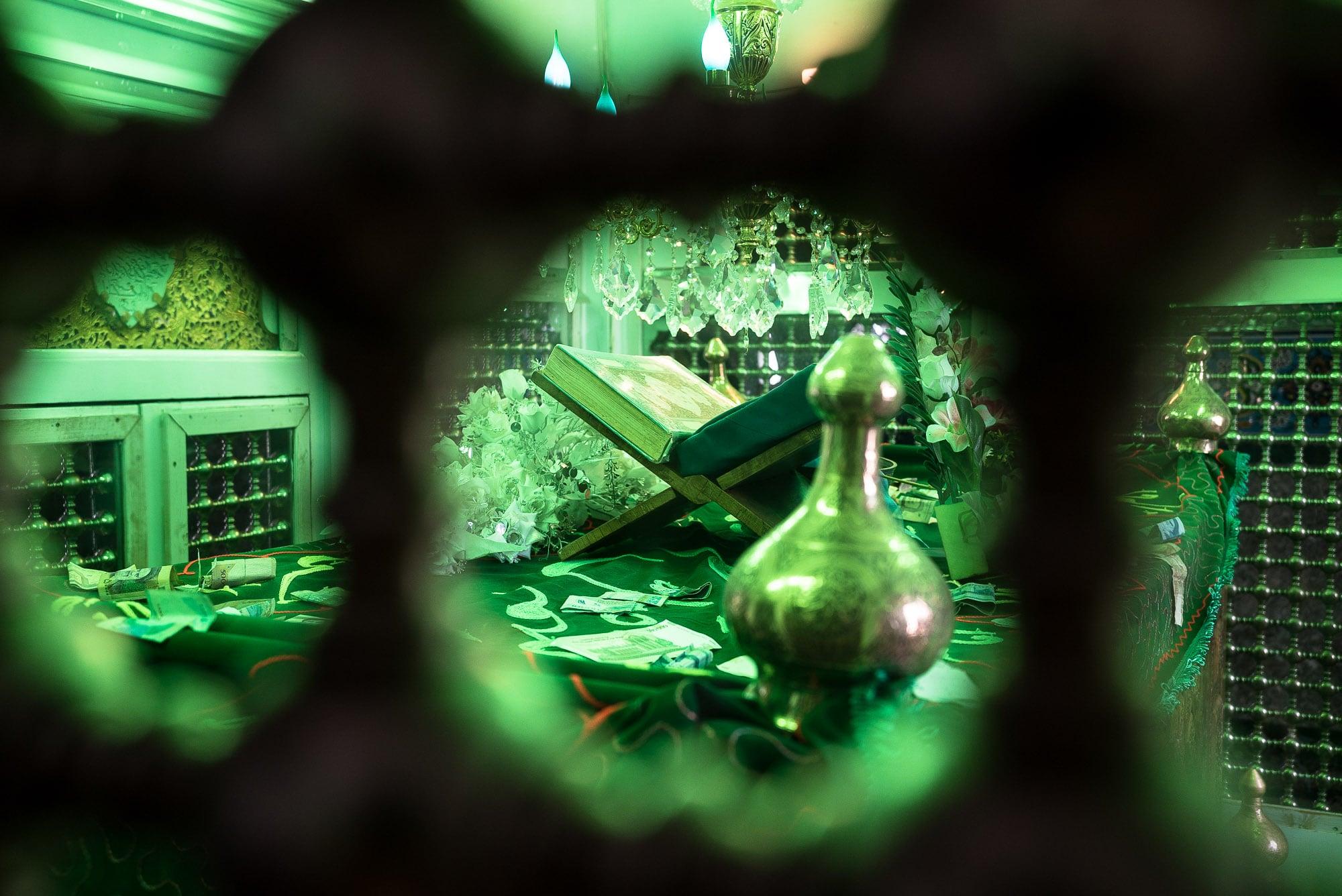 inside the shrine