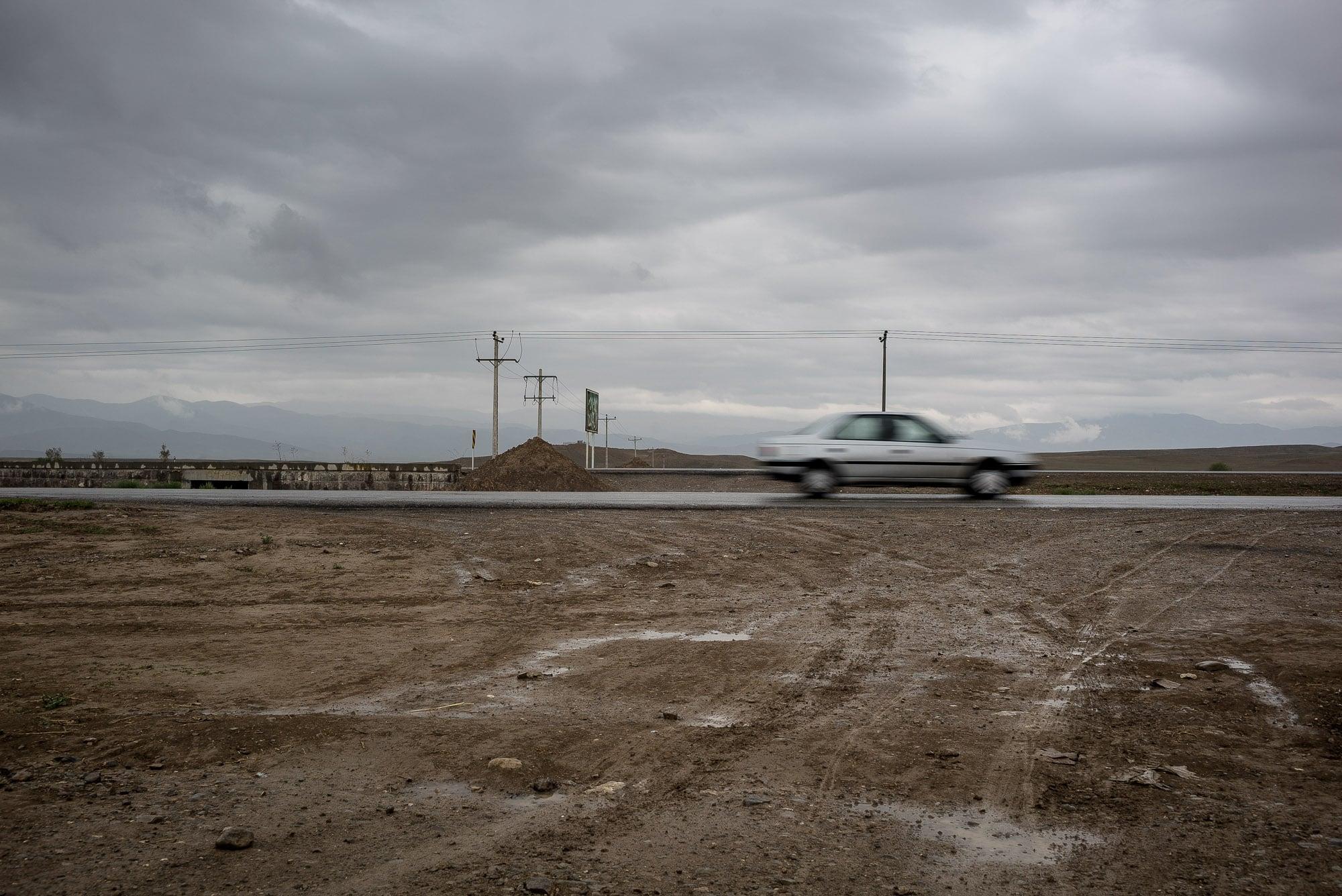mud and traffic