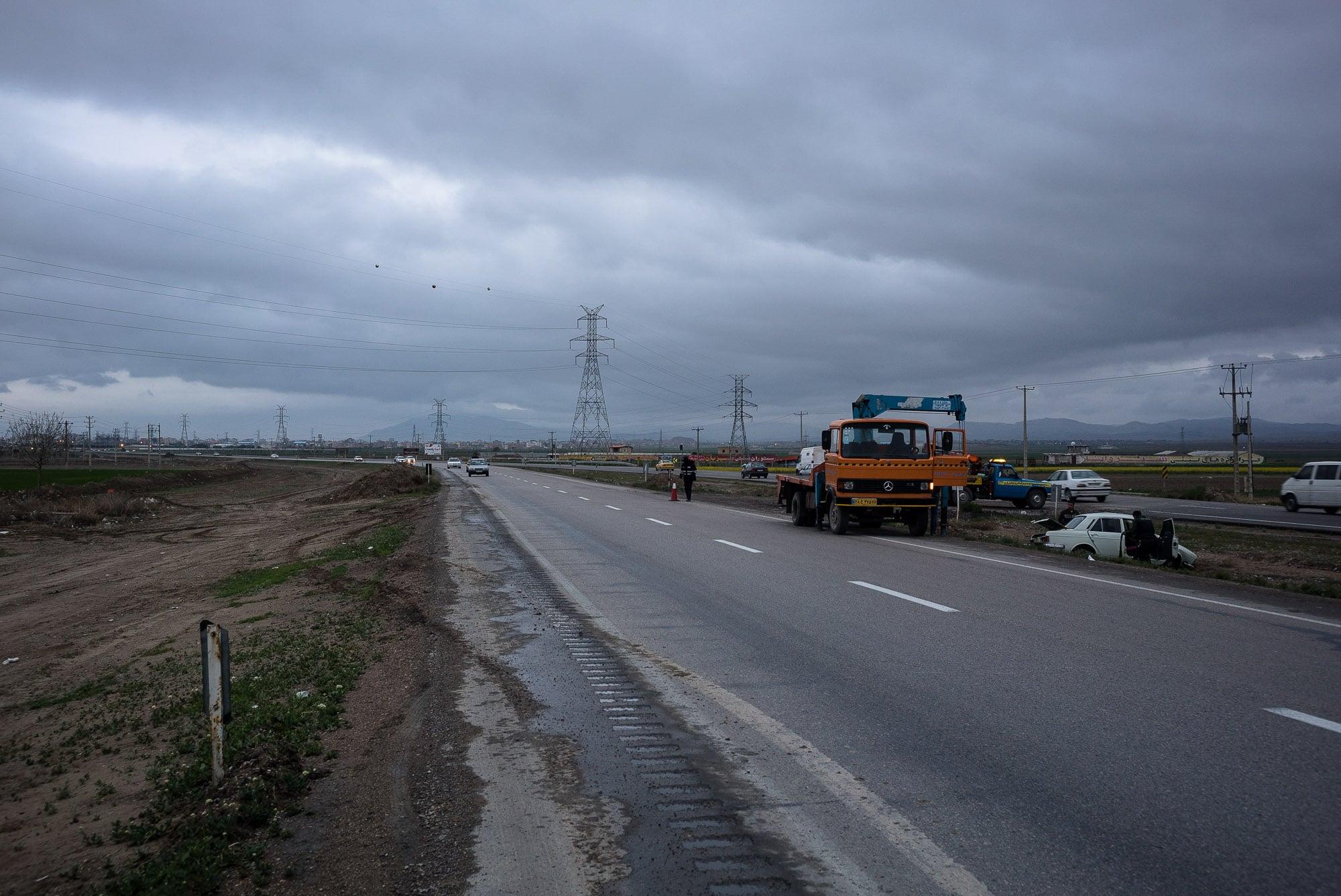 accident site