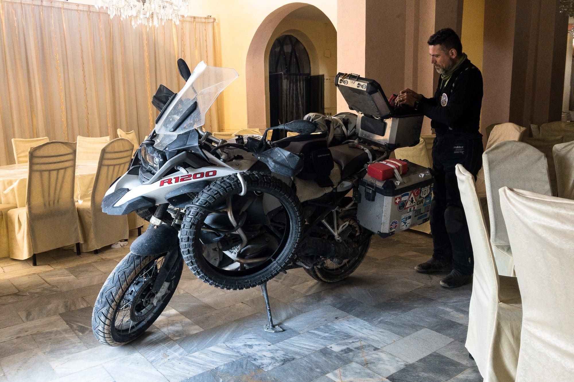 motorcycle in Shirvan