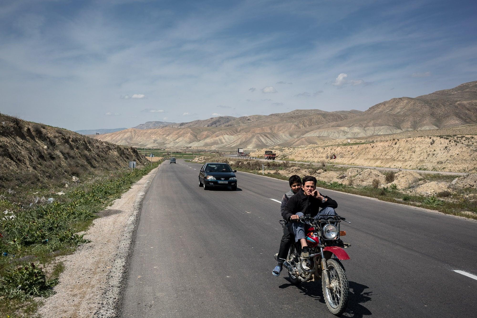 road to Bojnurd
