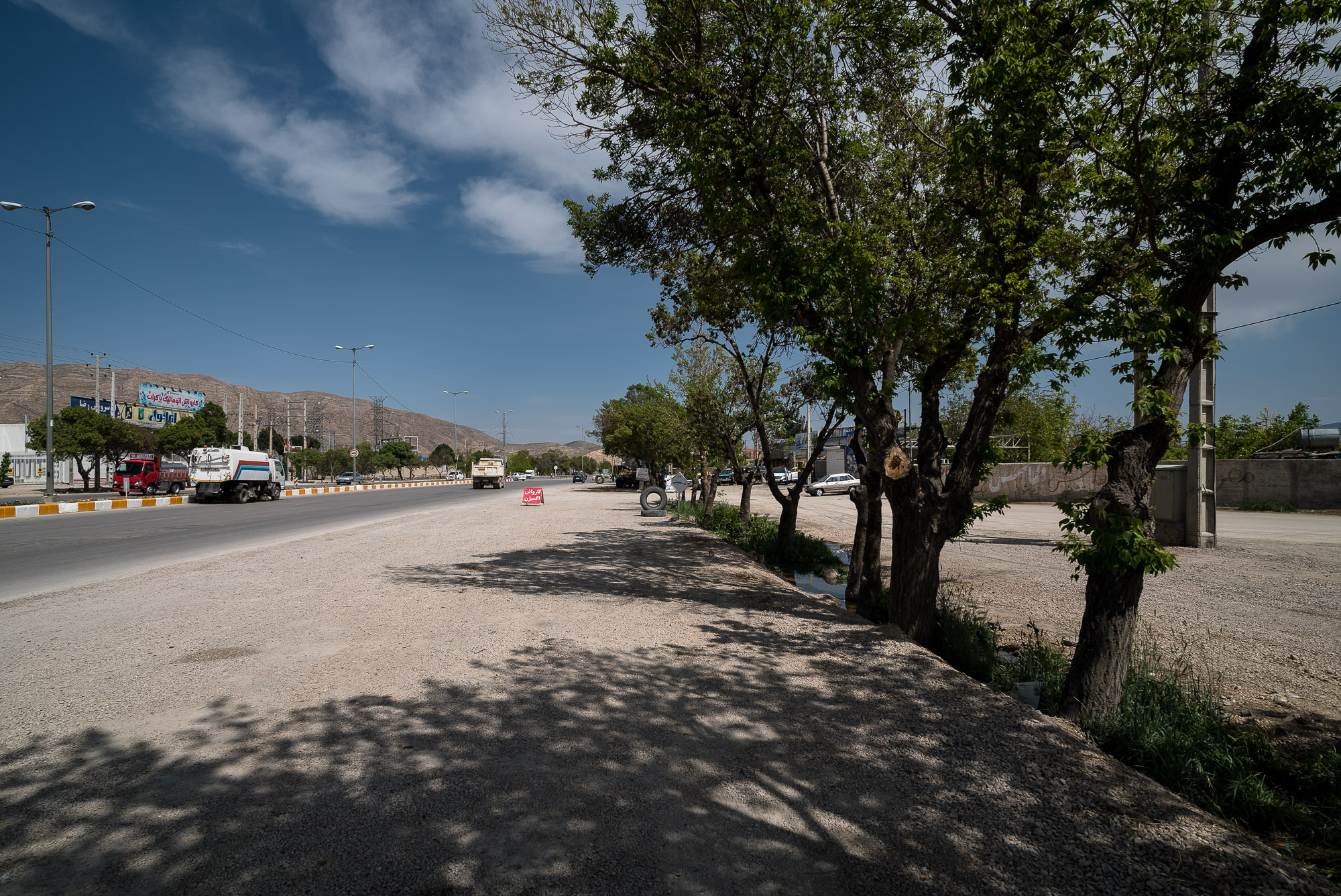 road into Bojnurd