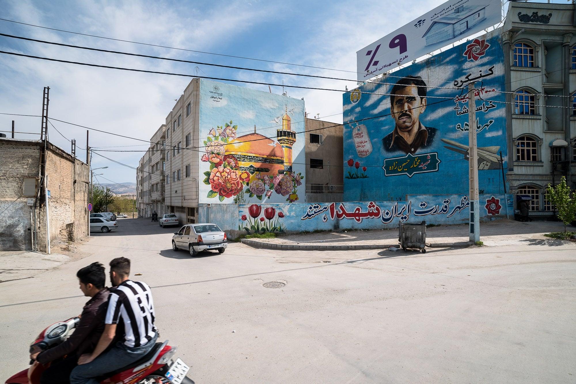 murals in Bojnurd