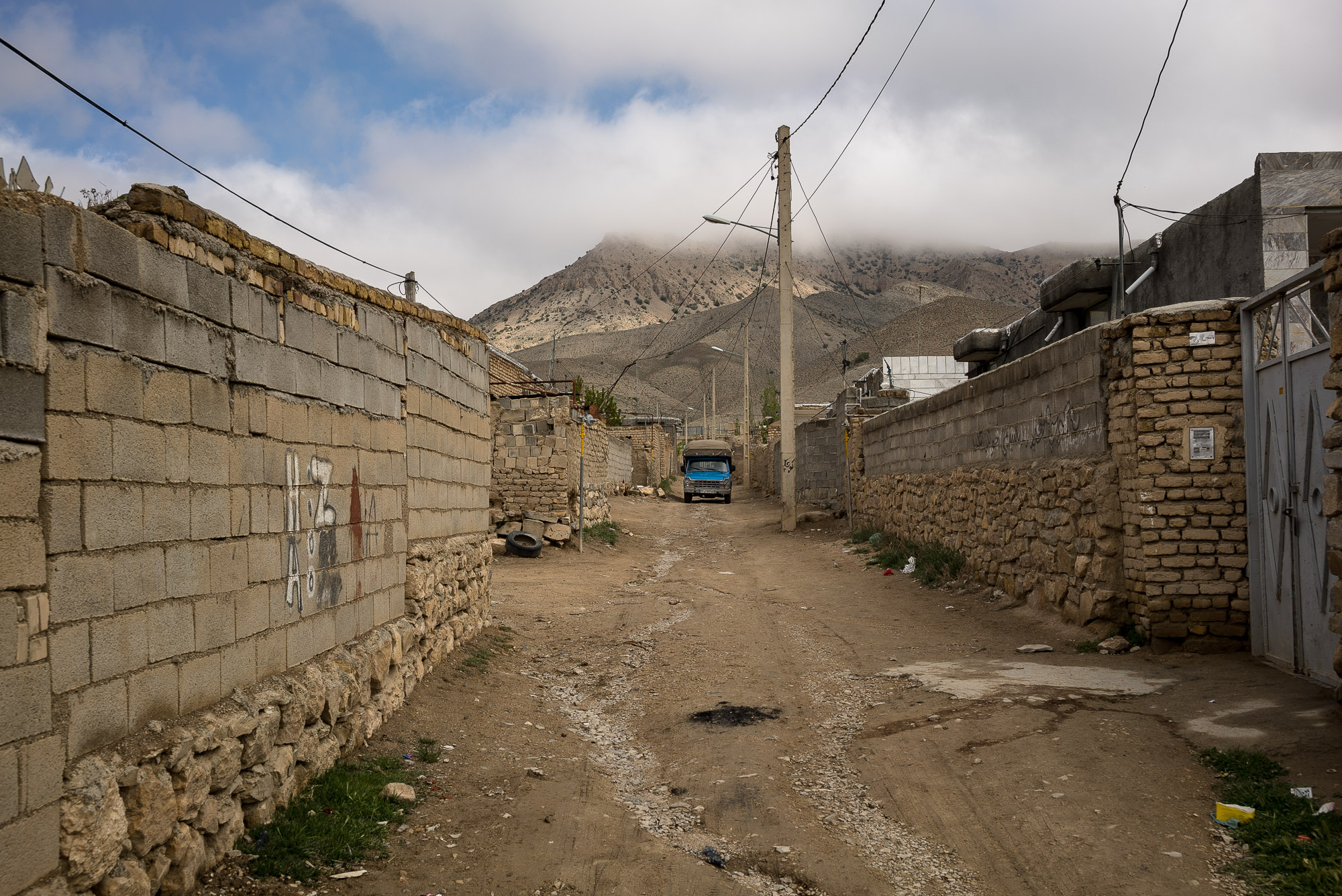 alley in Chaman Bid
