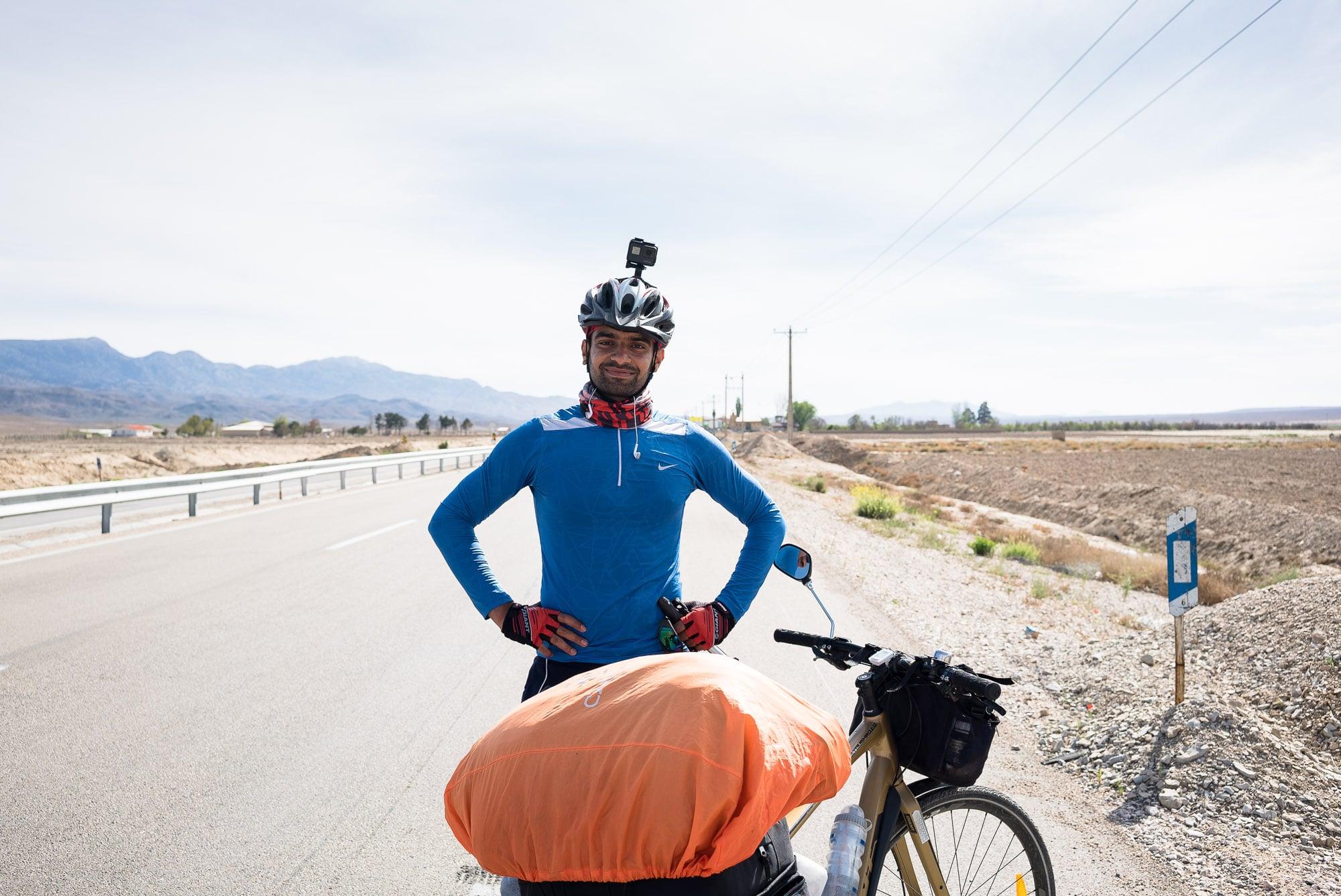 Ali the cyclist