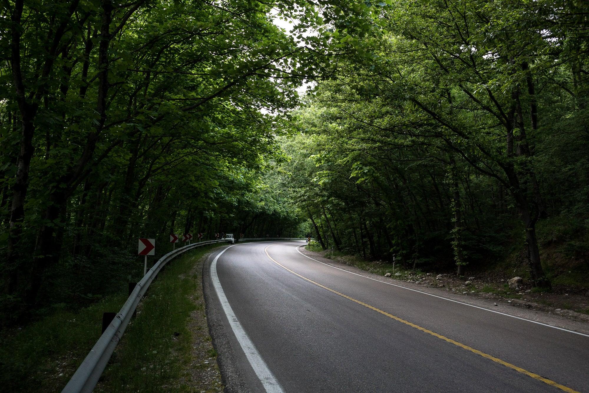 idyllic road?