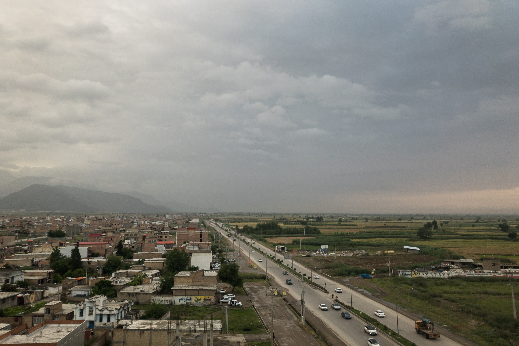 the road to Gorgan