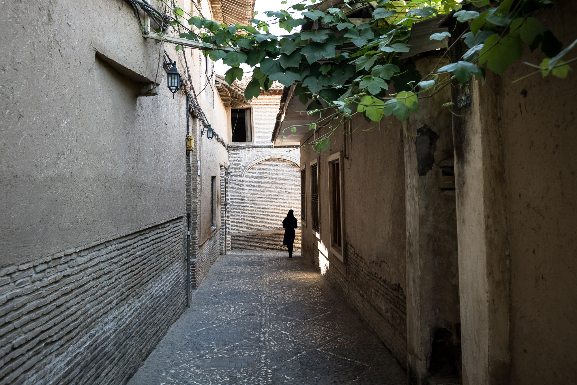 alley in Gorgan