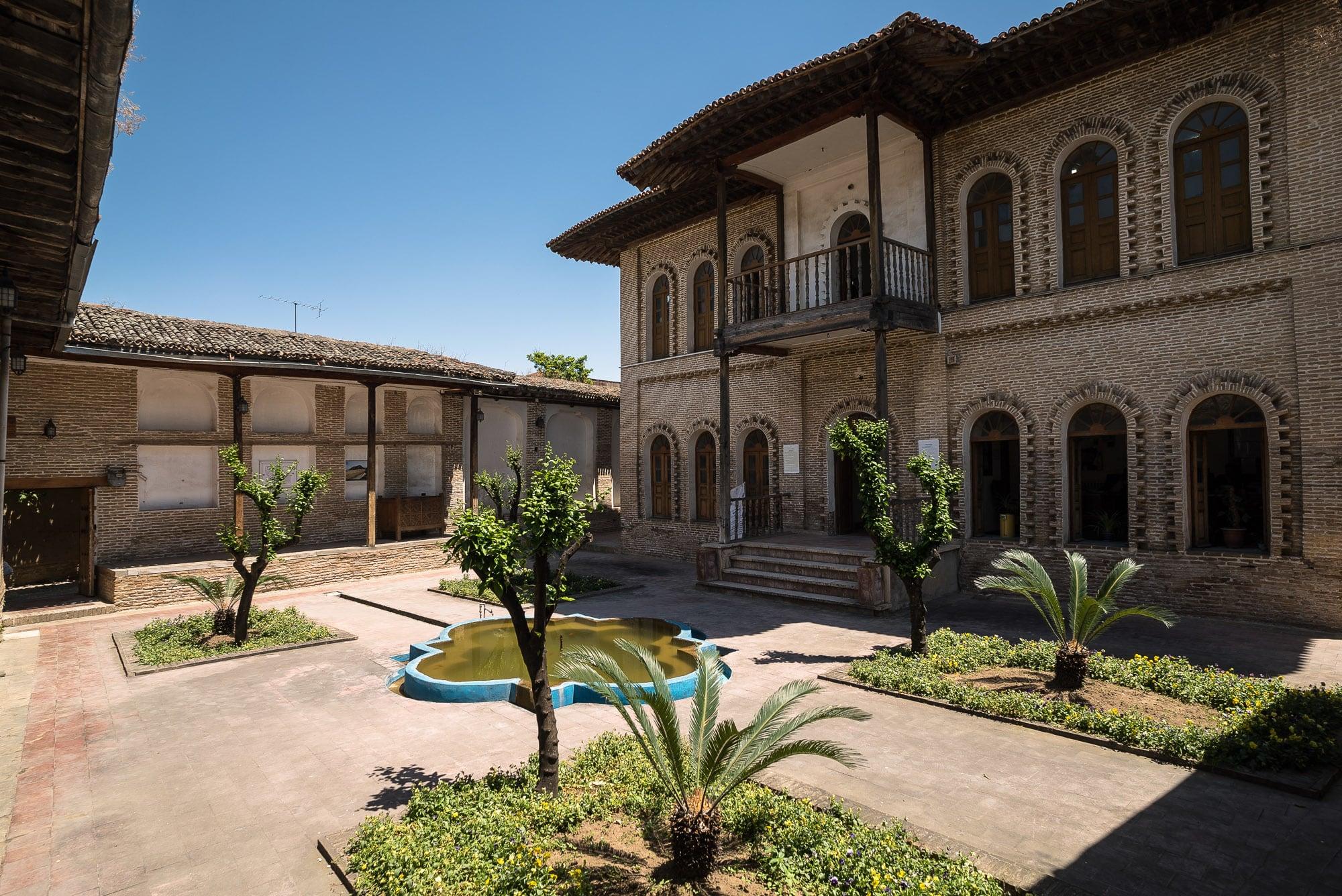 courtyard of Taghavi House