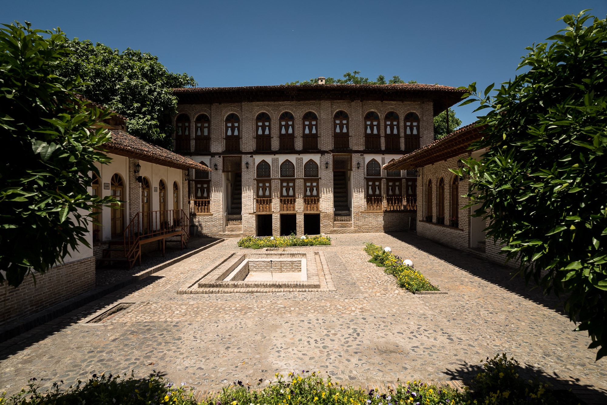 courtyard in Gorgan
