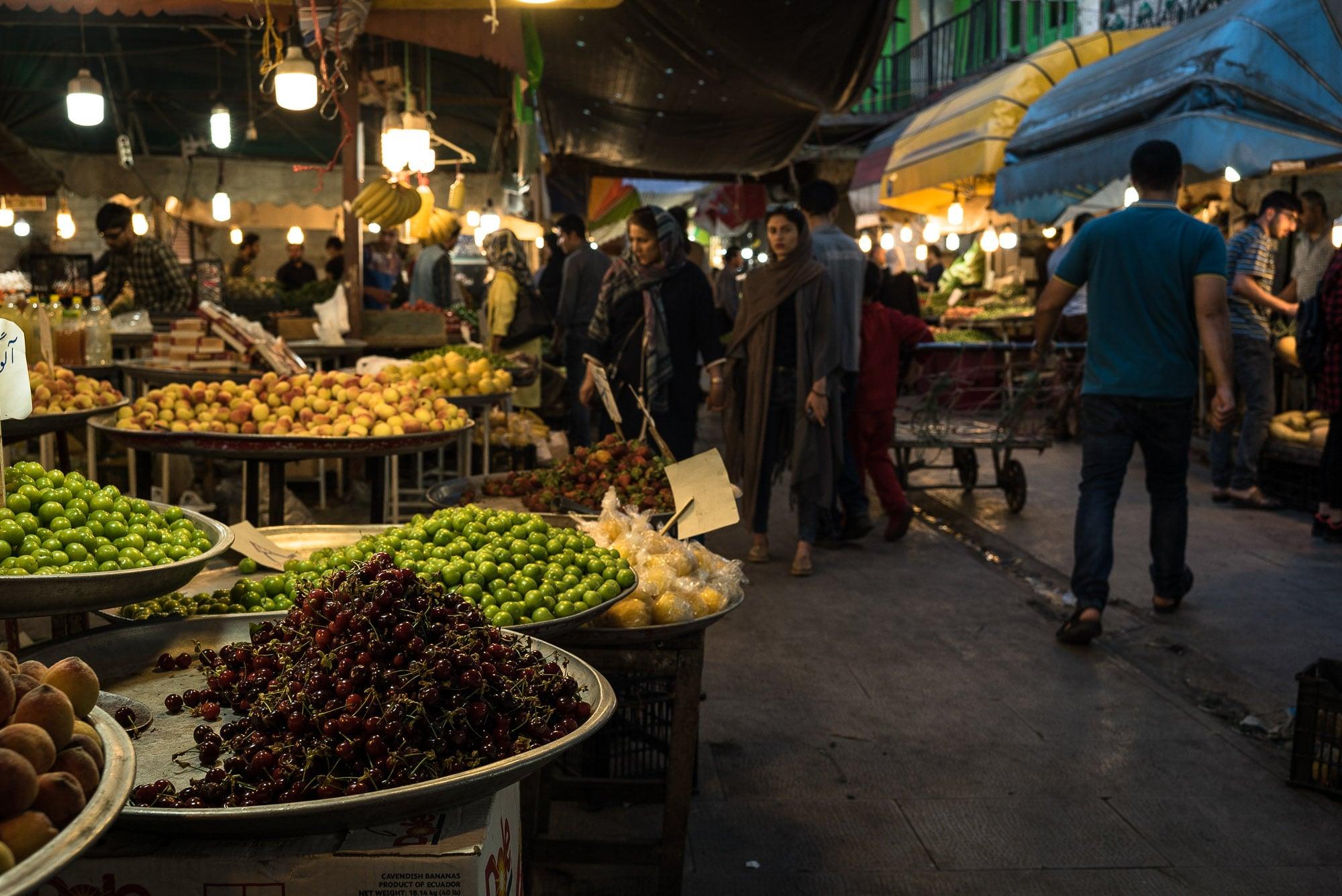 Gorgan bazaar