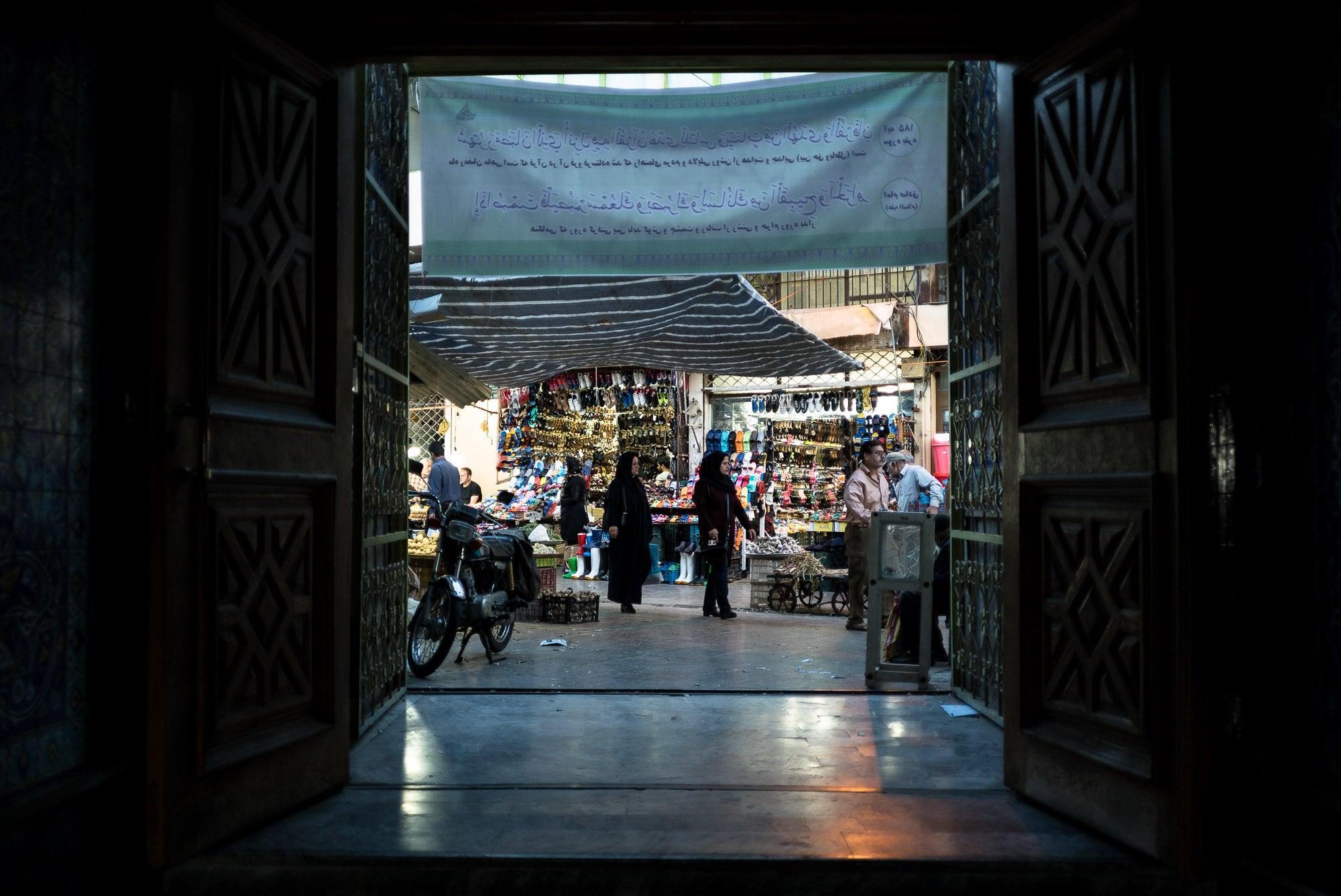 mosque to bazaar