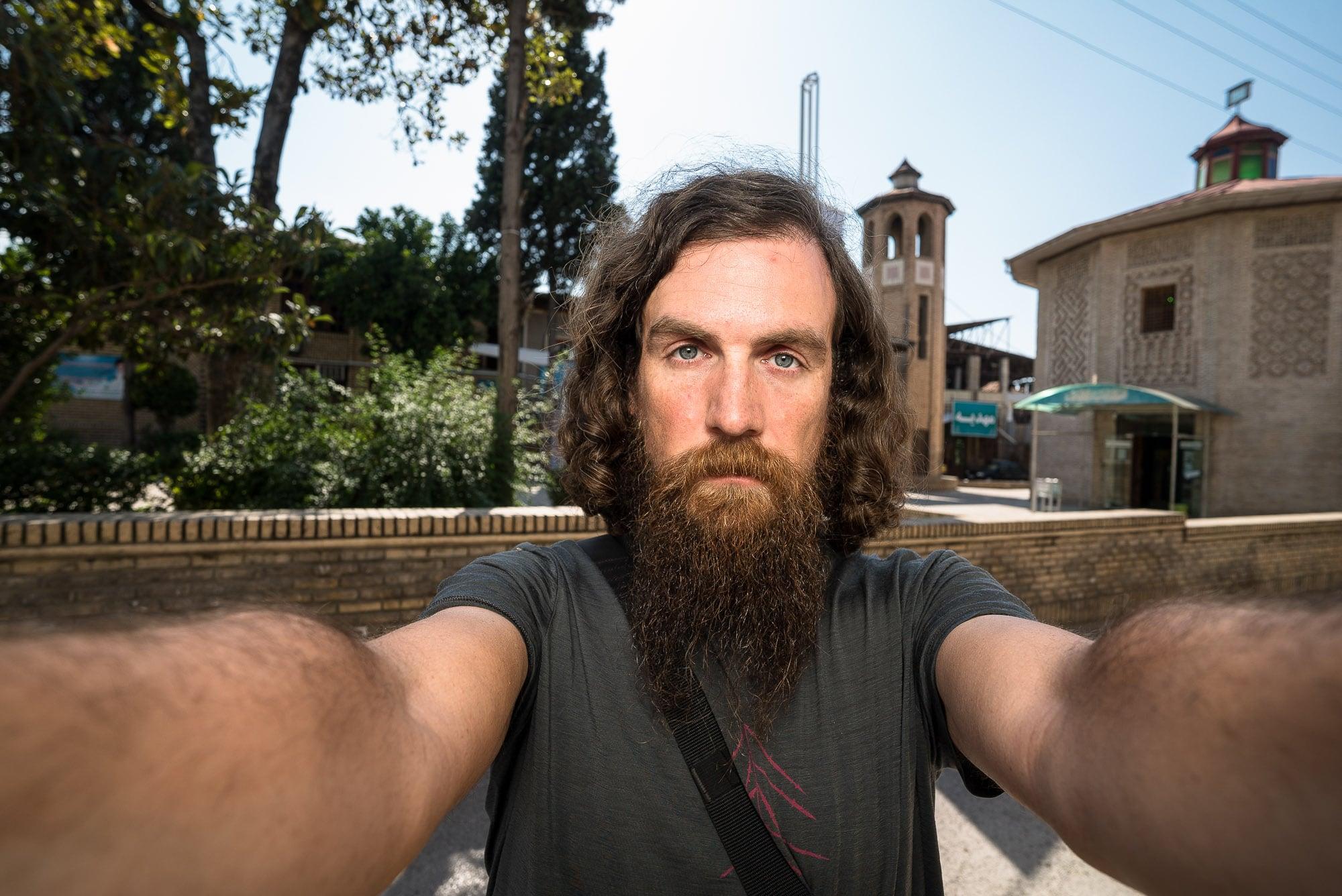 Gorgan selfie flash shade