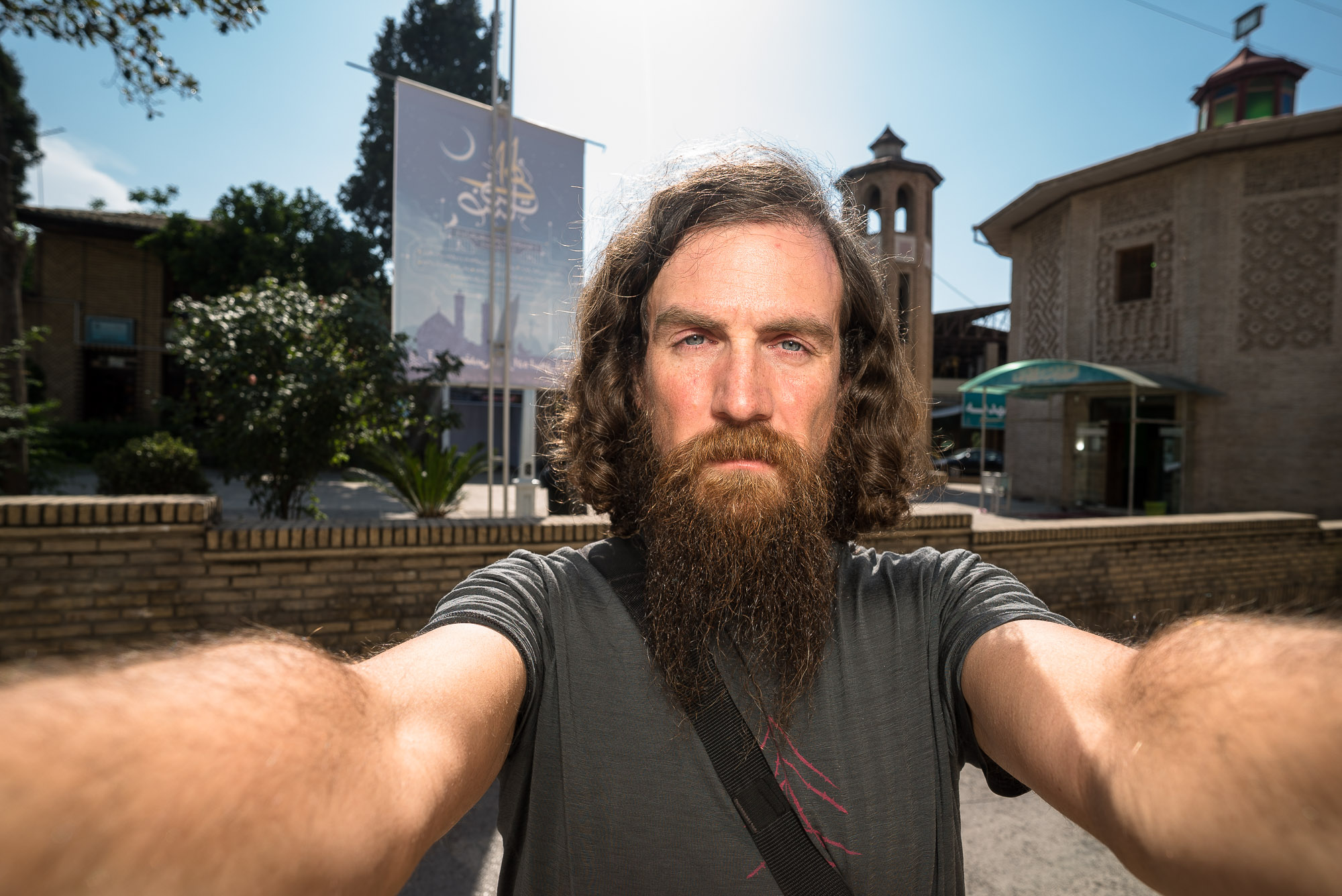 Gorgan selfie flash no shade