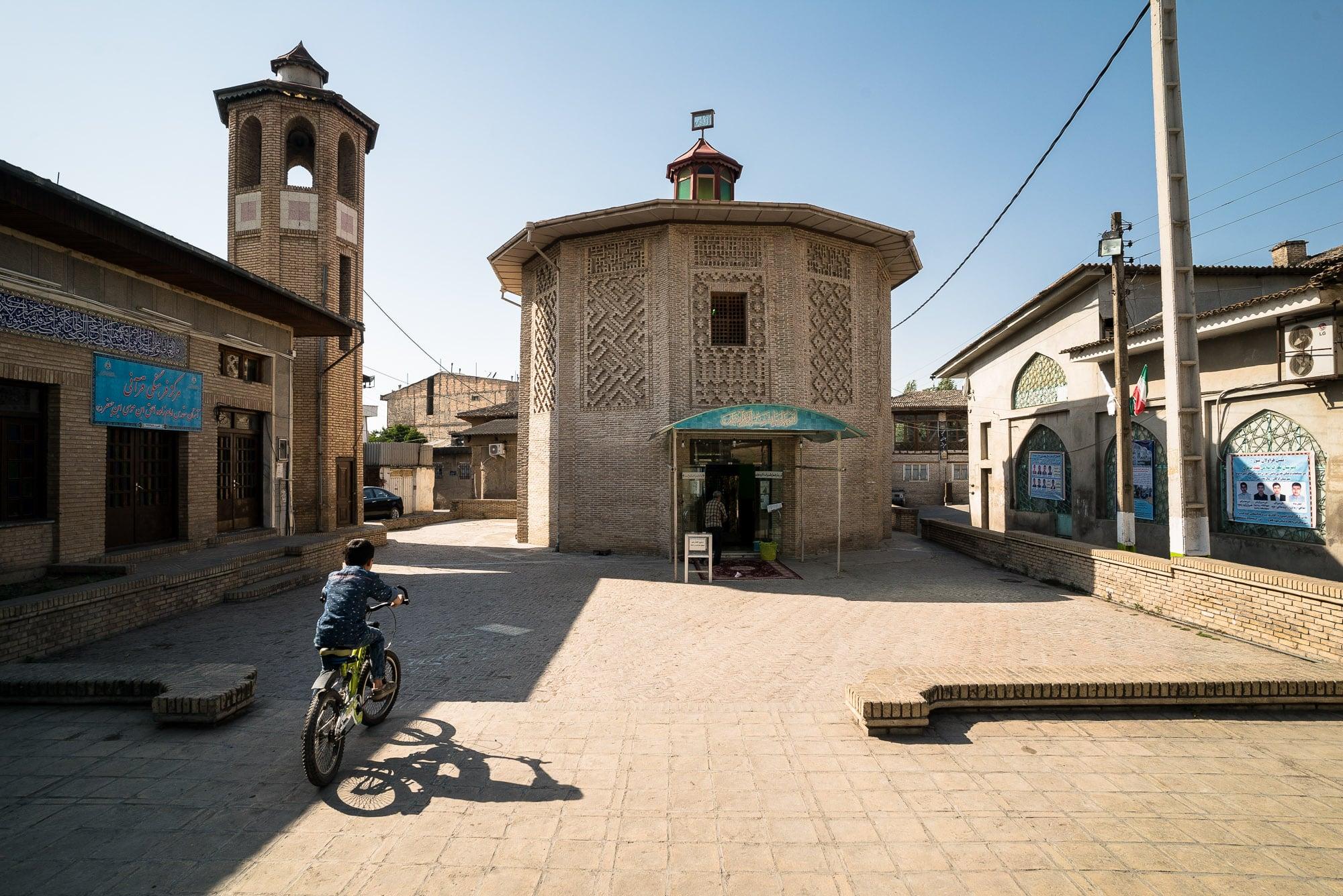 Gorgan mausoleum and tower