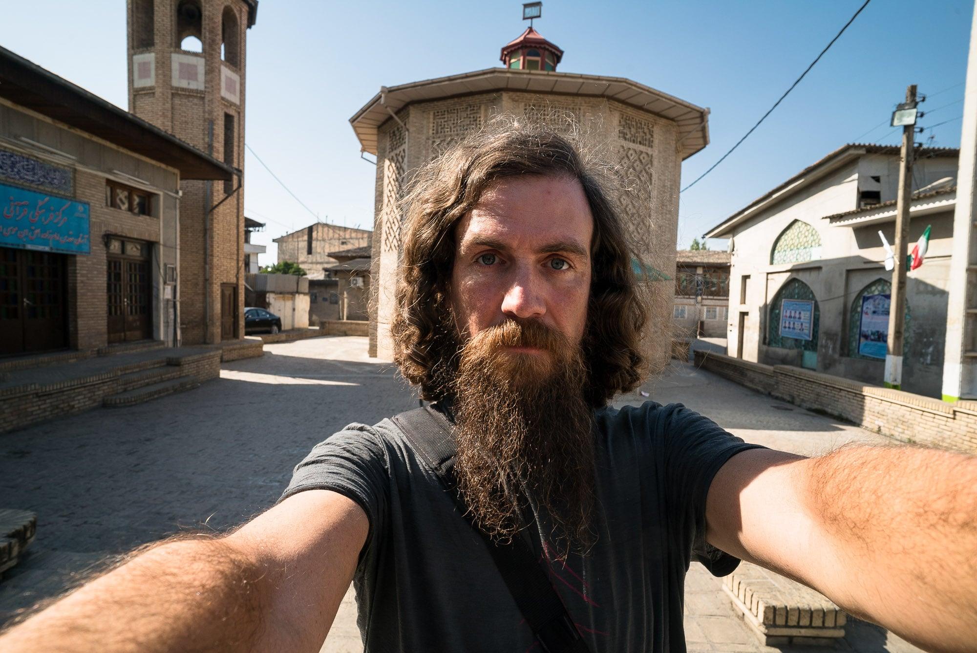 Gorgan where one would take a selfie