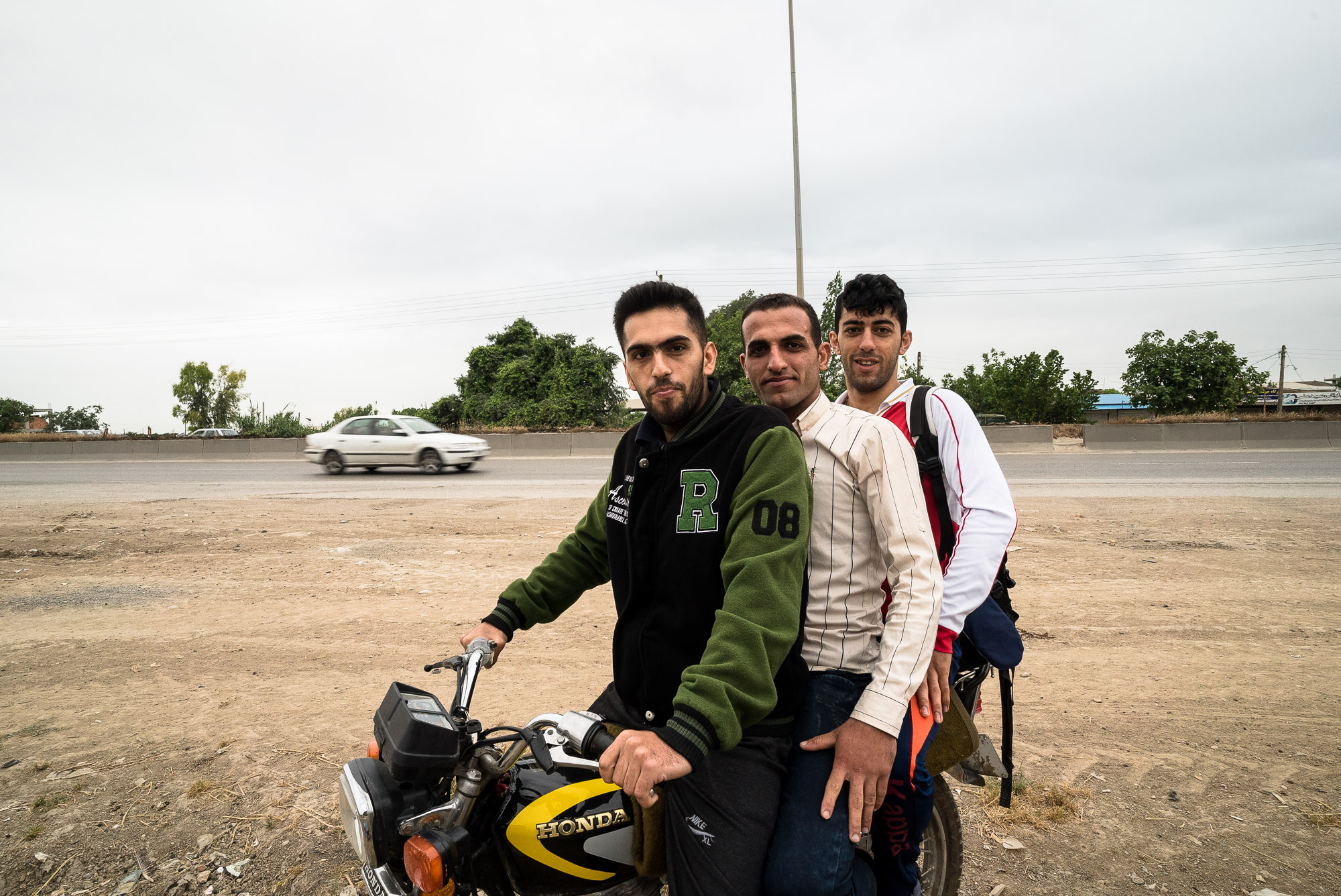 dudes on motorcycle