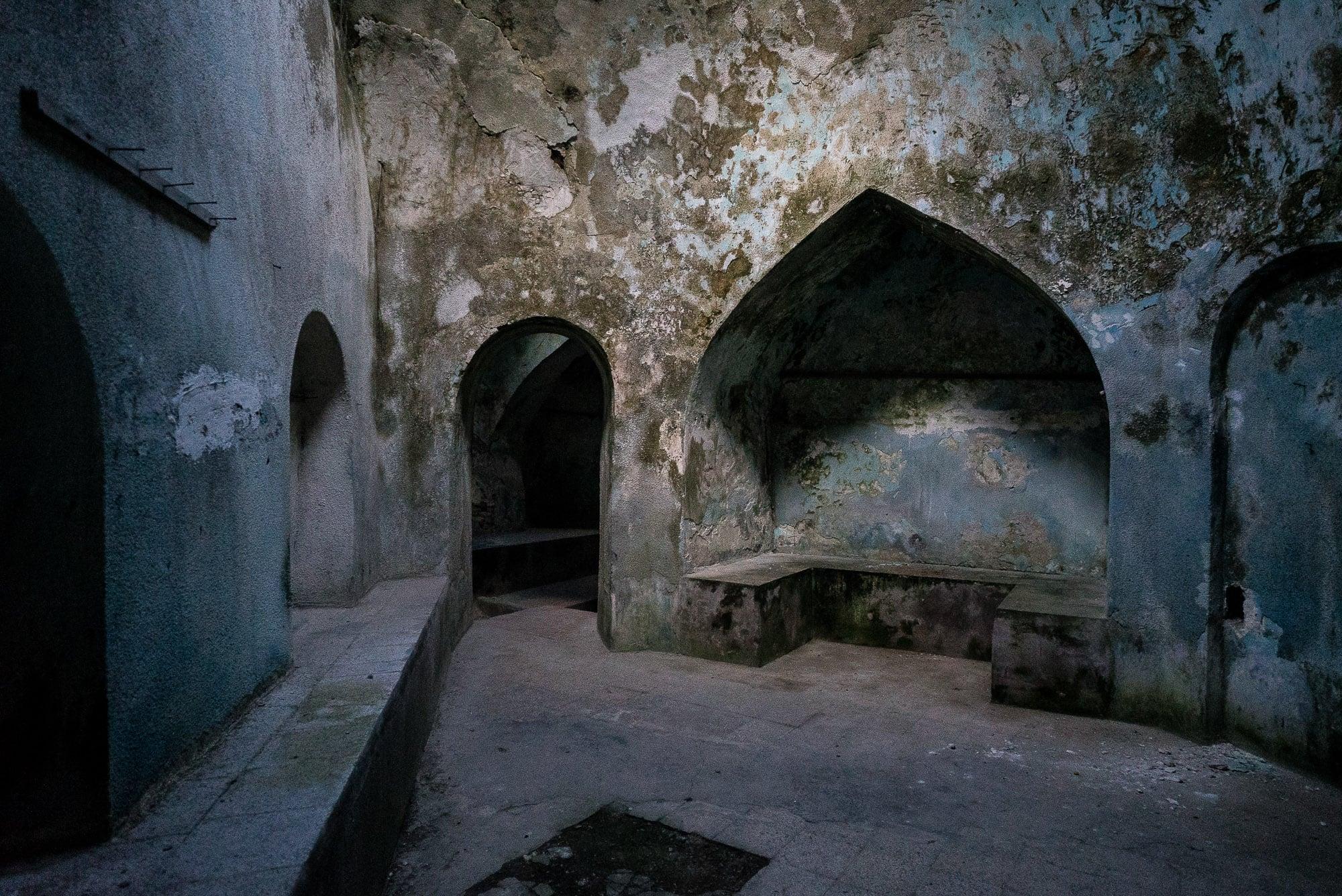 old hamam in Farah Abad