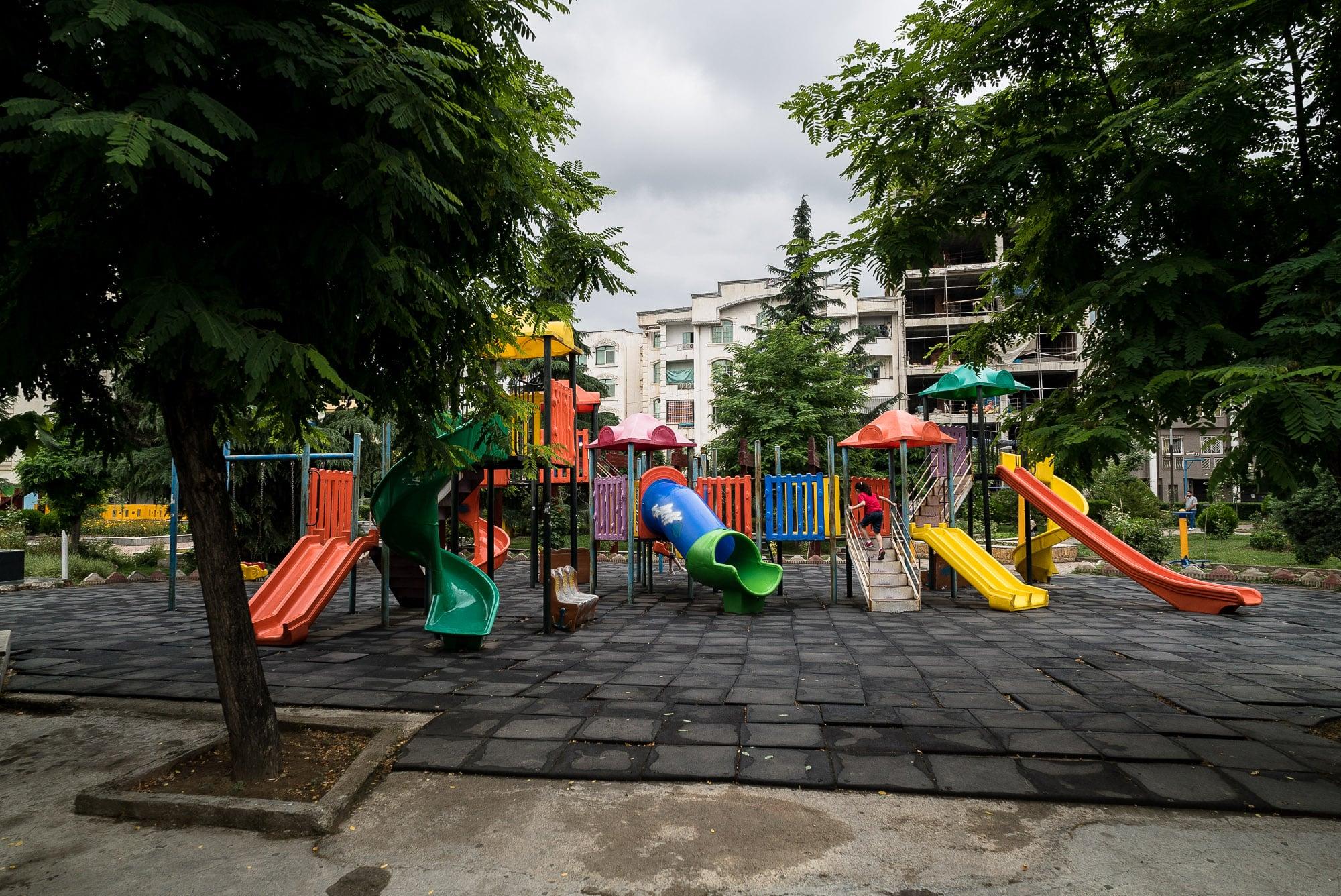 playground in Sari