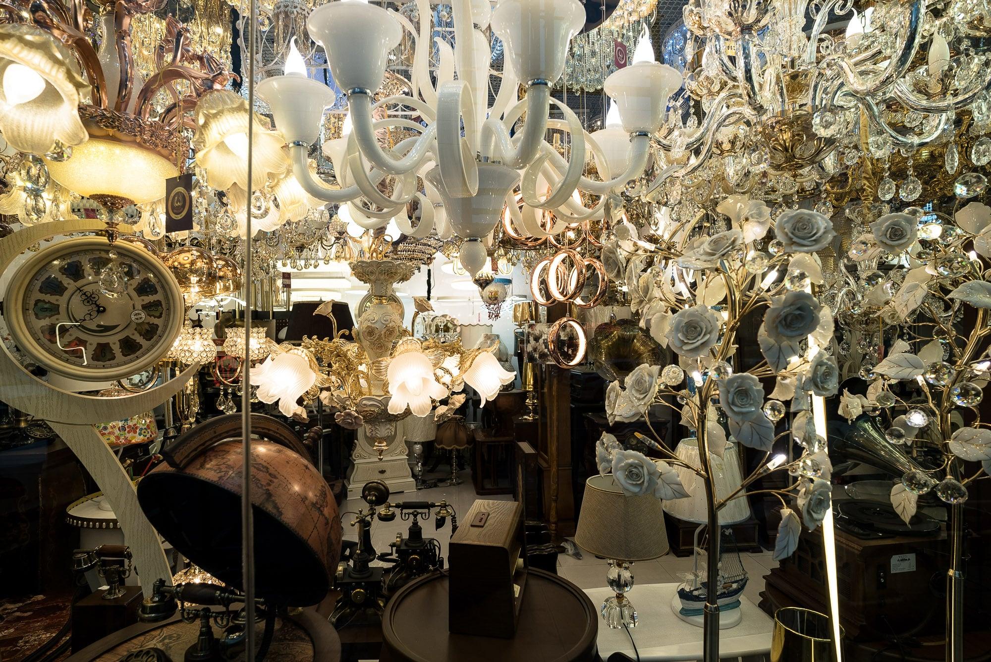 chandelier store in Sari