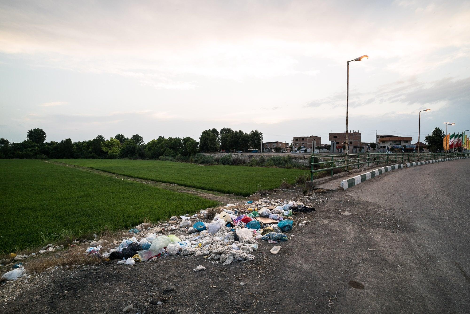 trash near Juybar