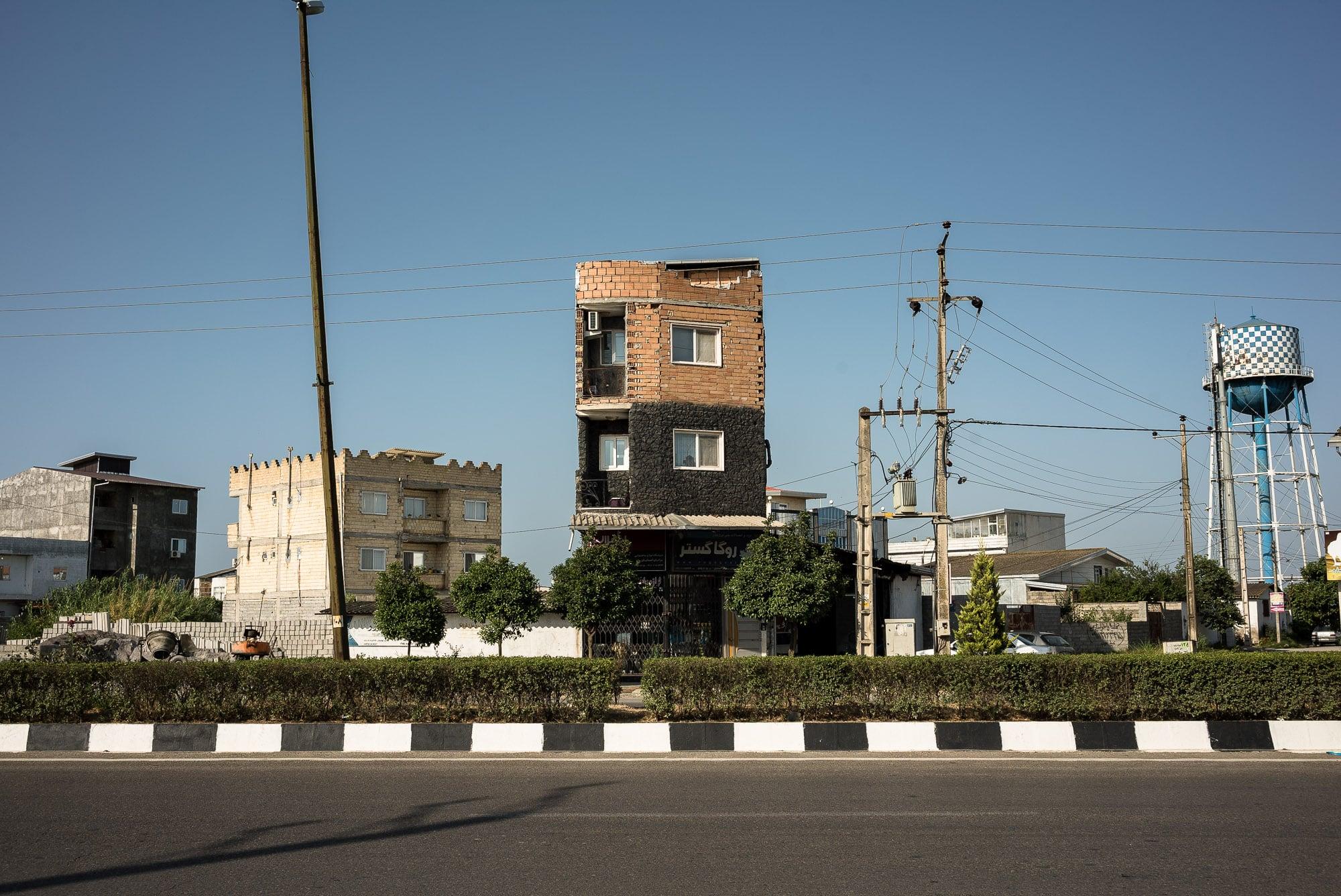 slim building