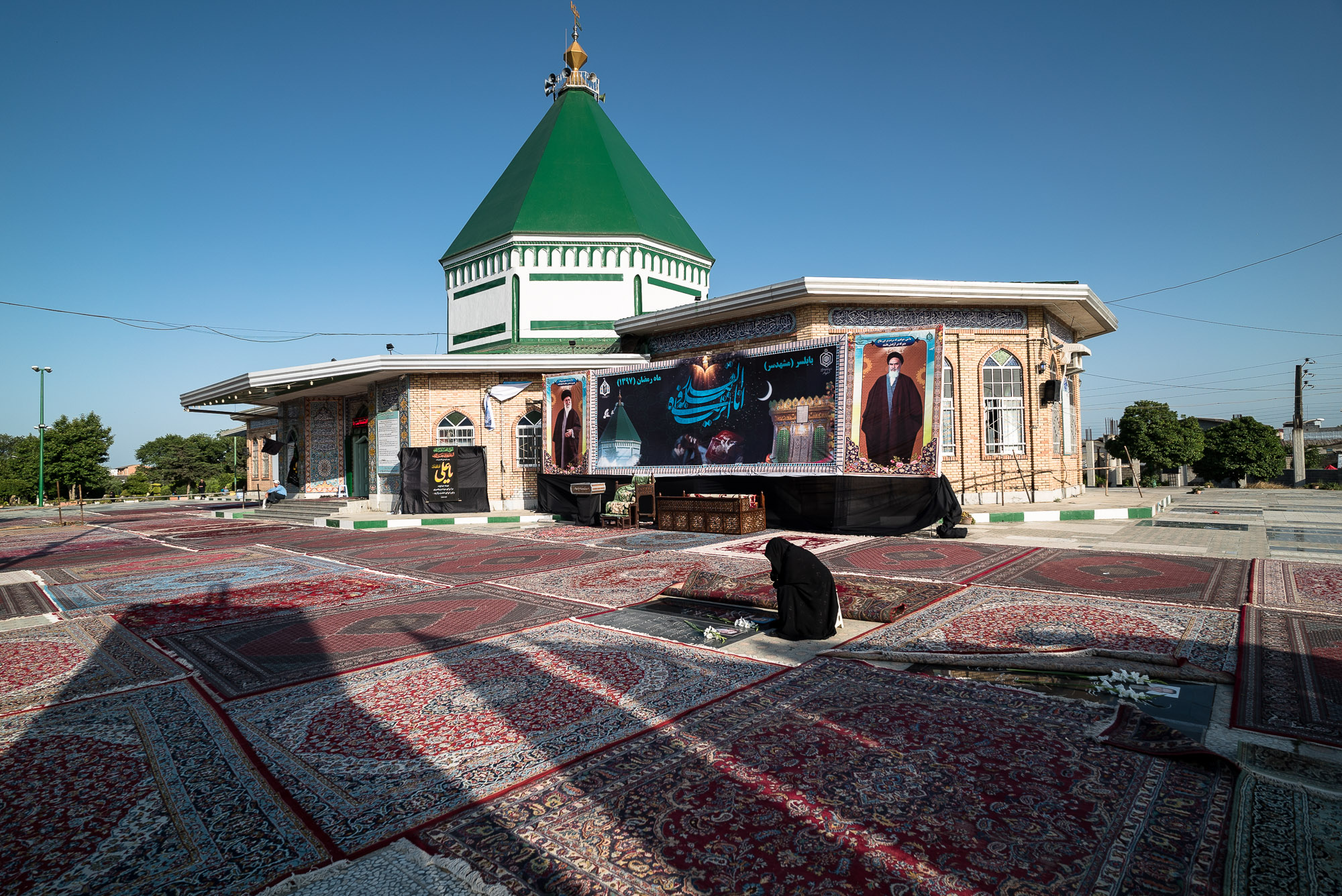outside of Imamzadeh Ebrahim