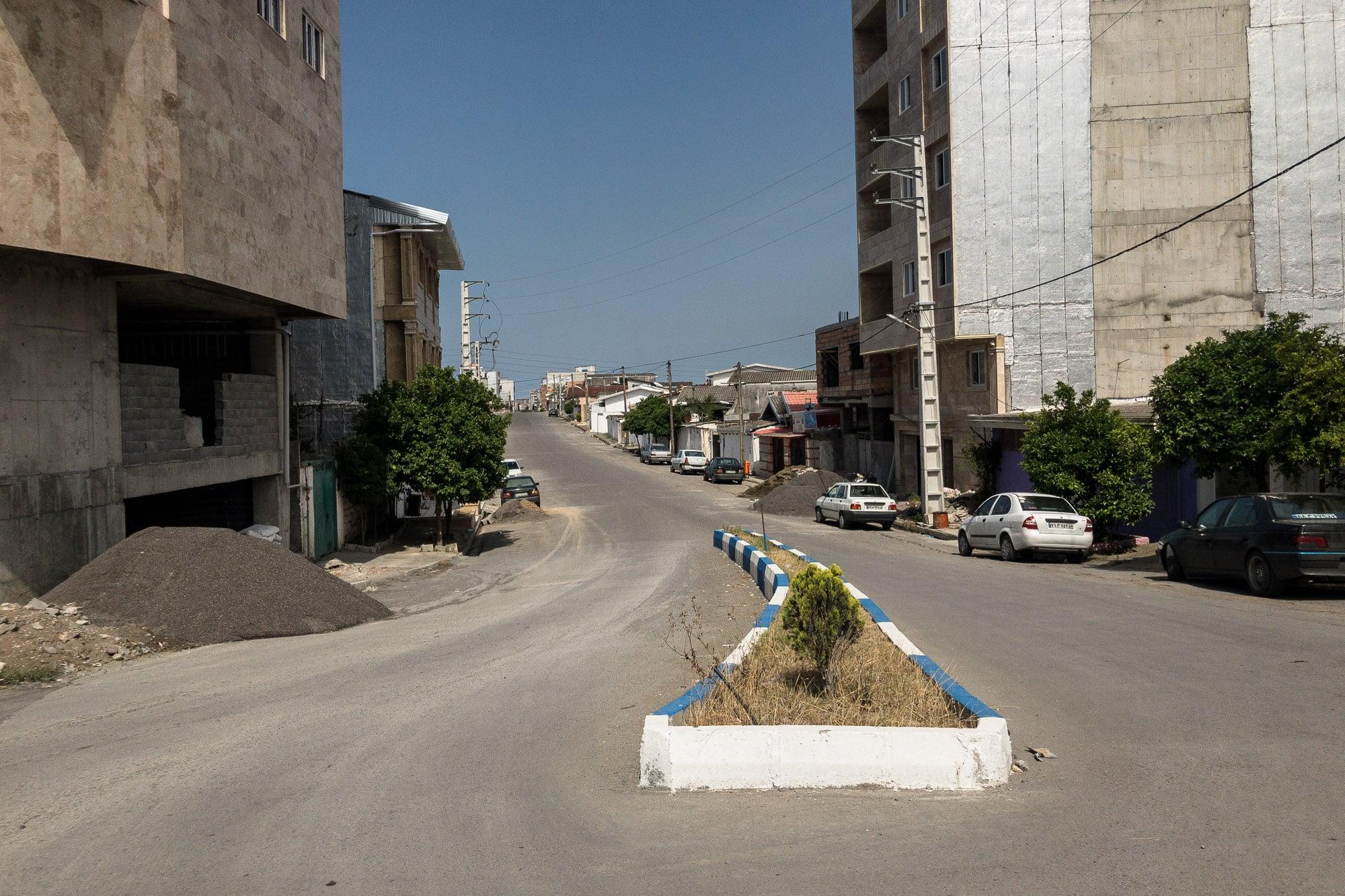 street in Fereydunkenar