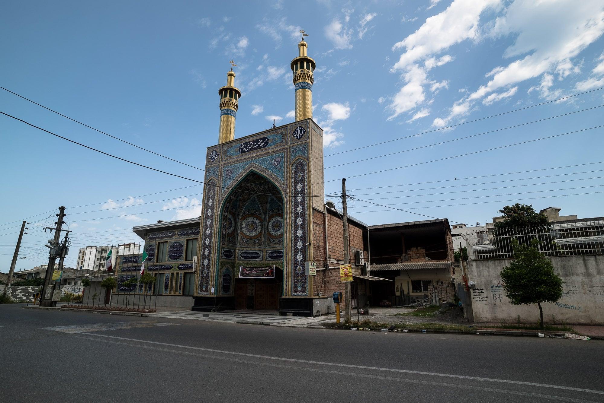 mosque facade