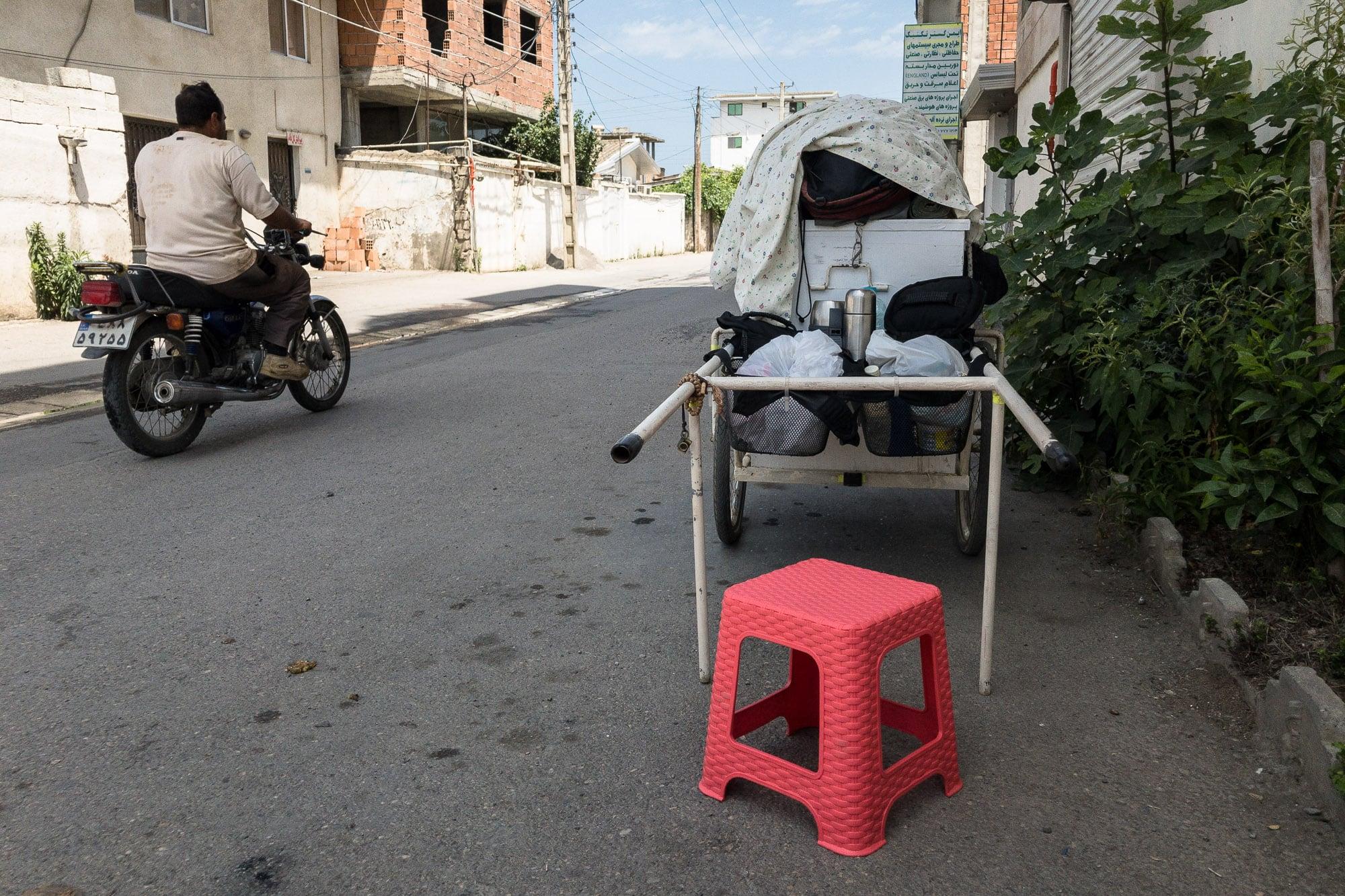 new plastic stool