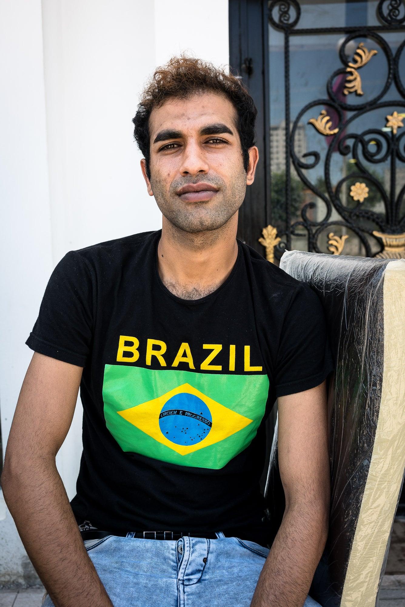 not a Brazil fan