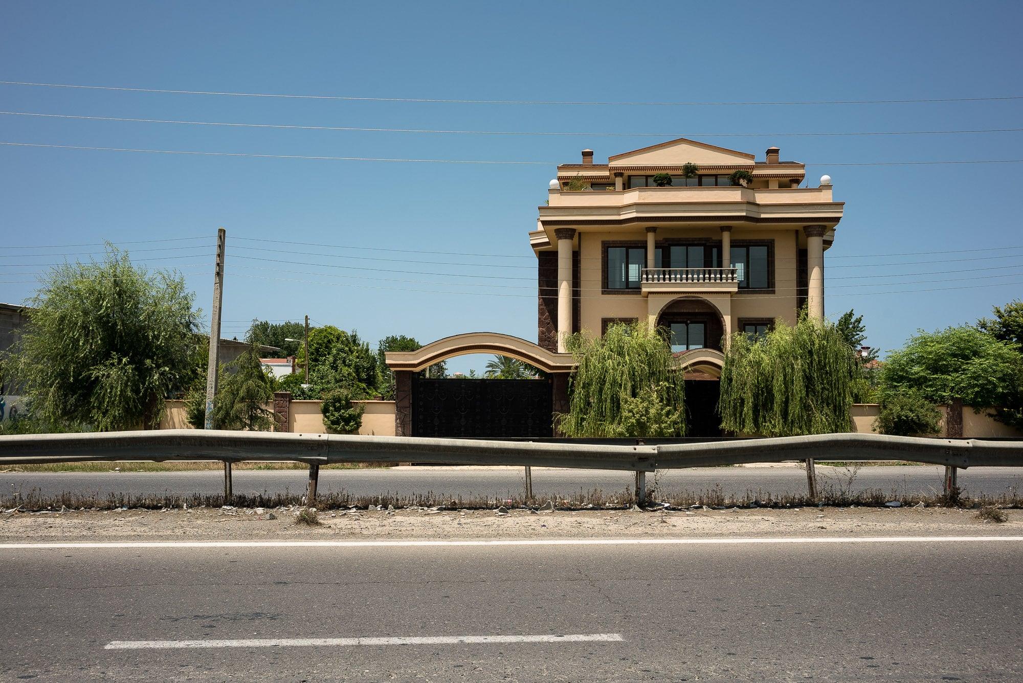 Caspian Sea coast villa