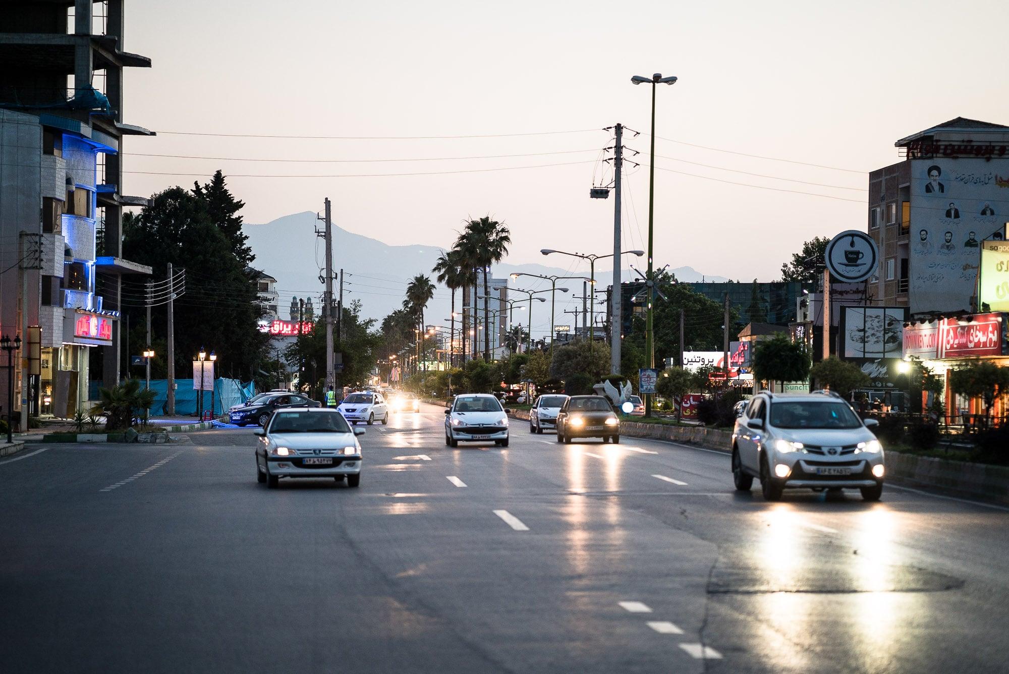 street scene in Nur