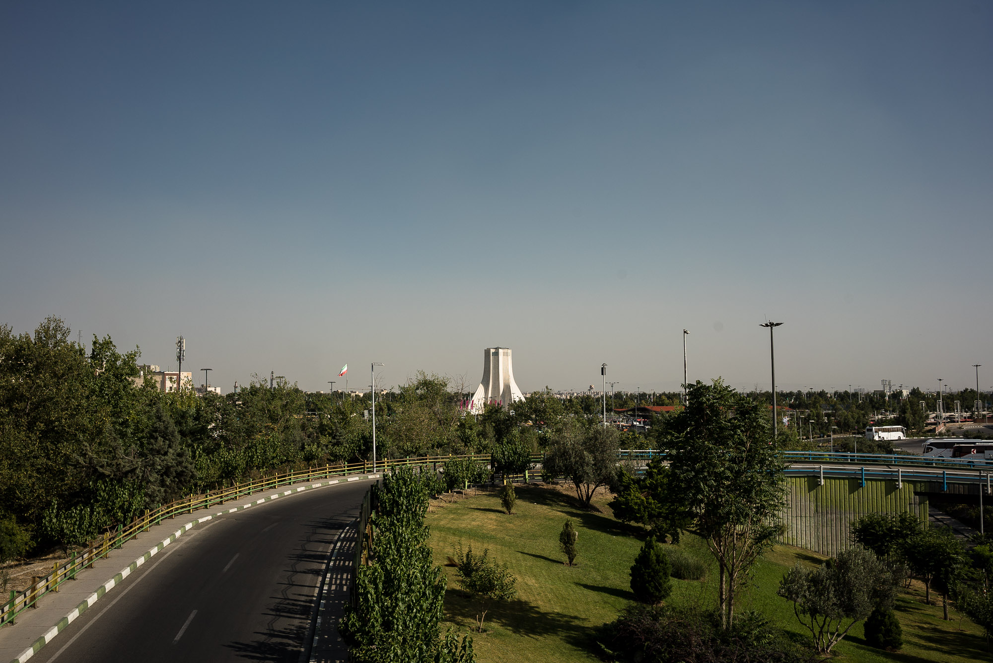 Azadi Square from afar