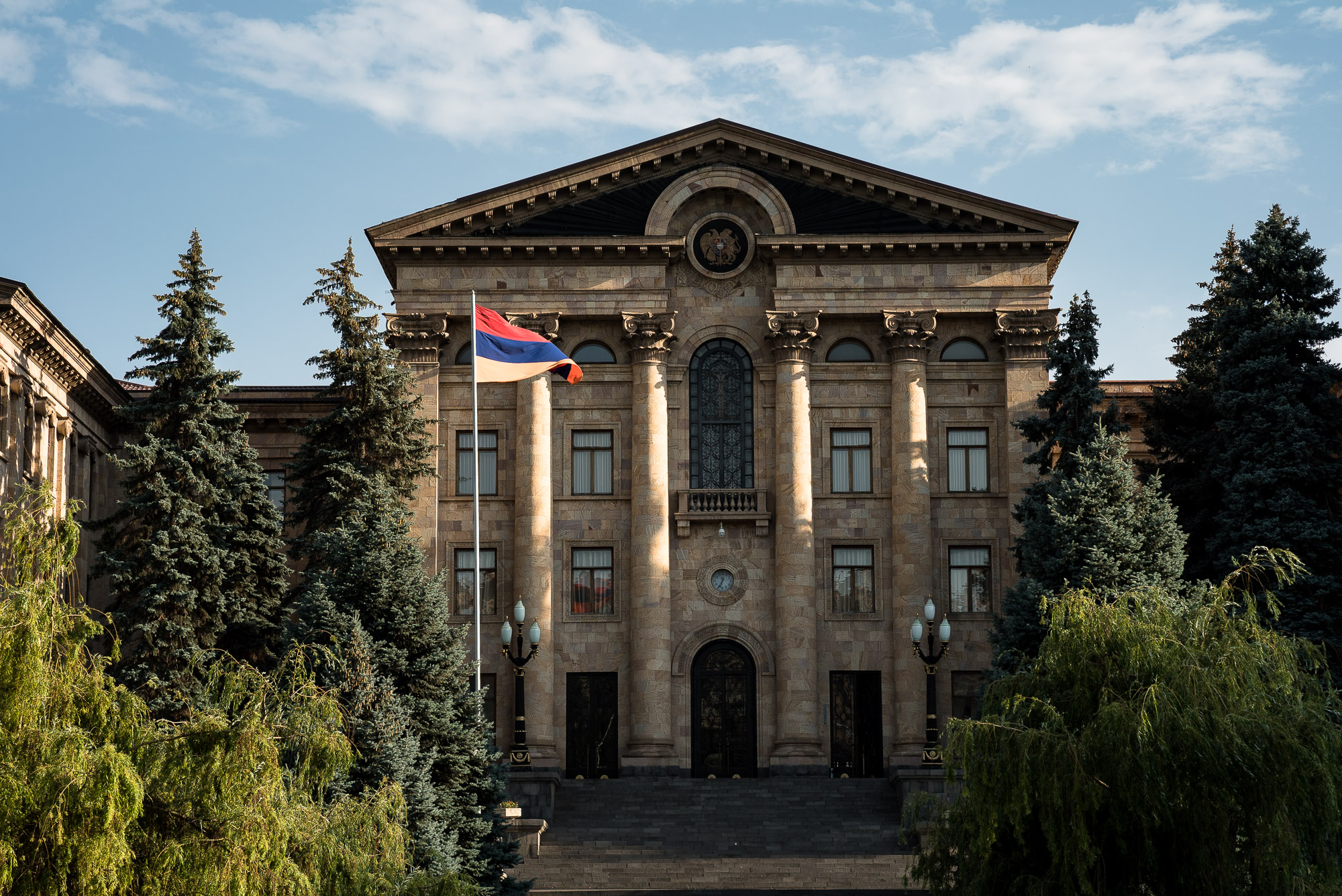government building in Yerevan