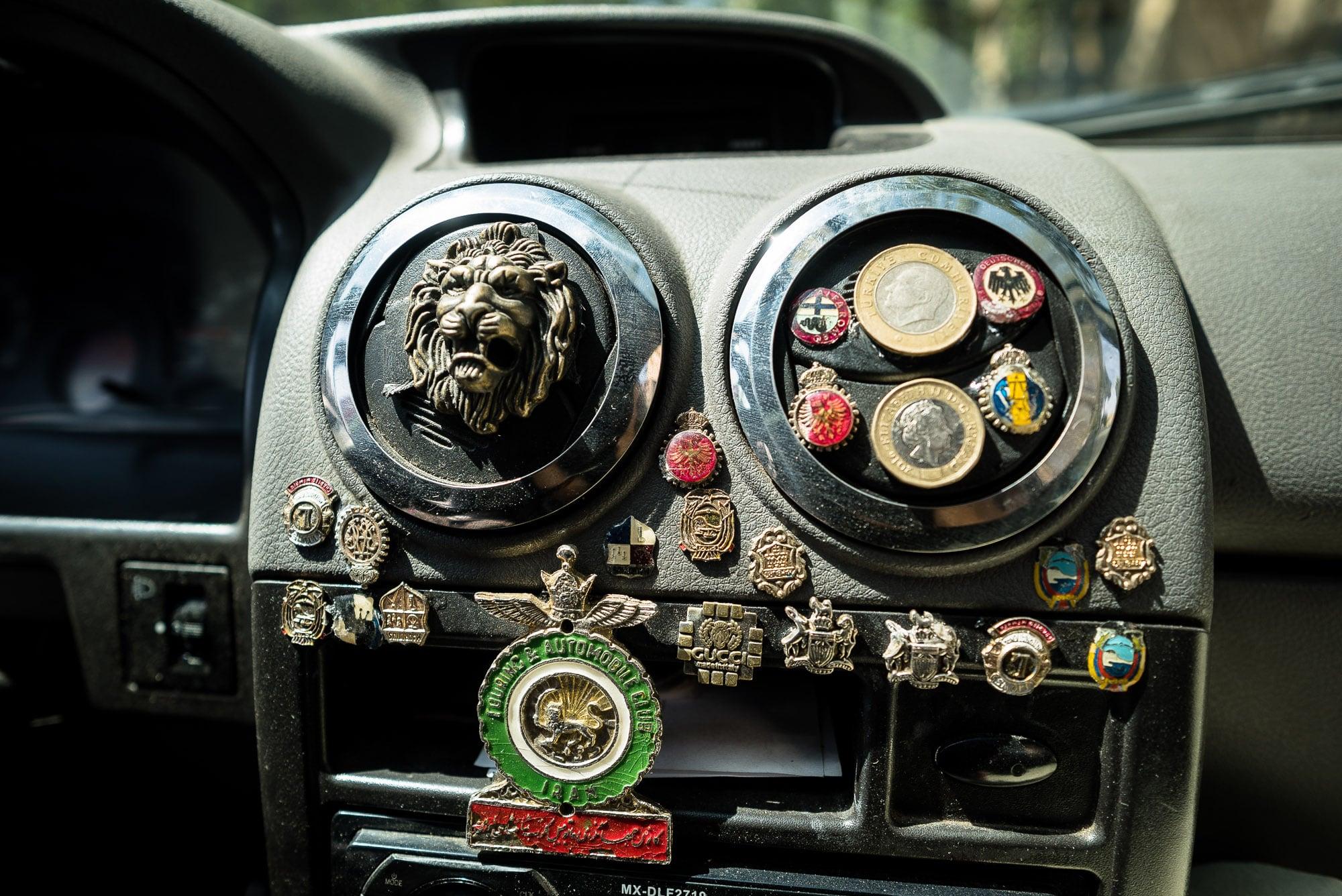 taxi dashboard